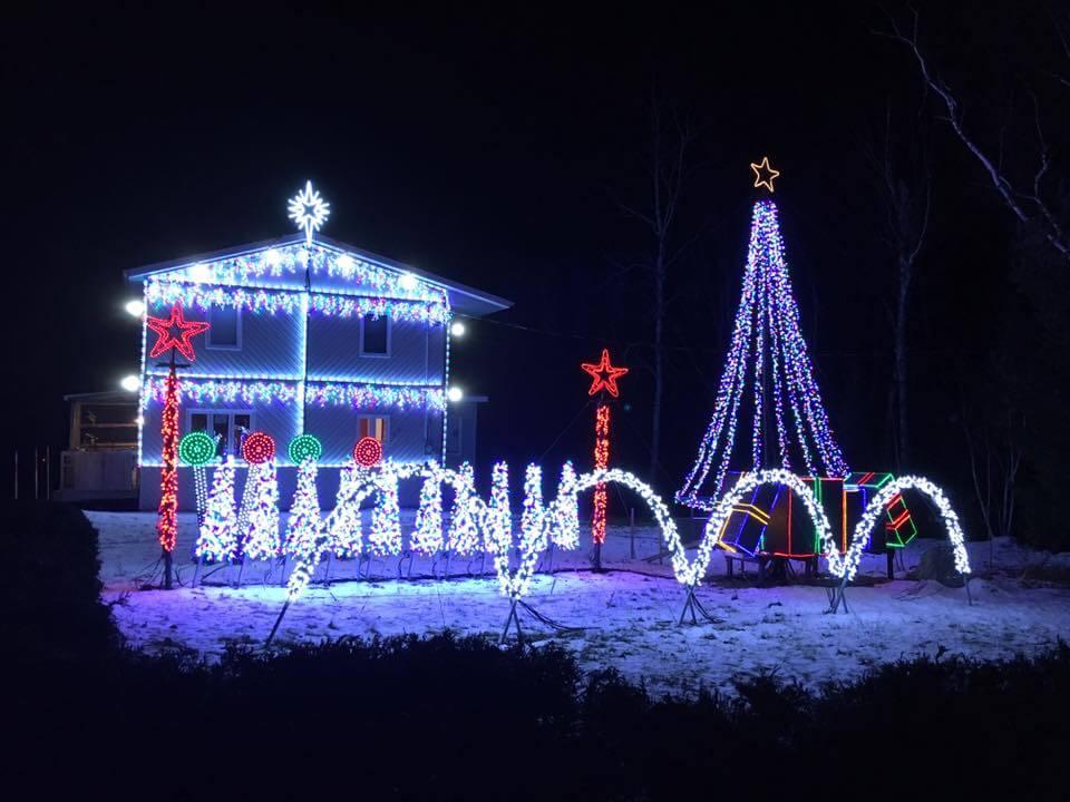 CCYME son lumière Noël