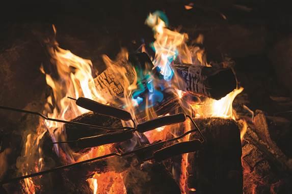 feu extérieur