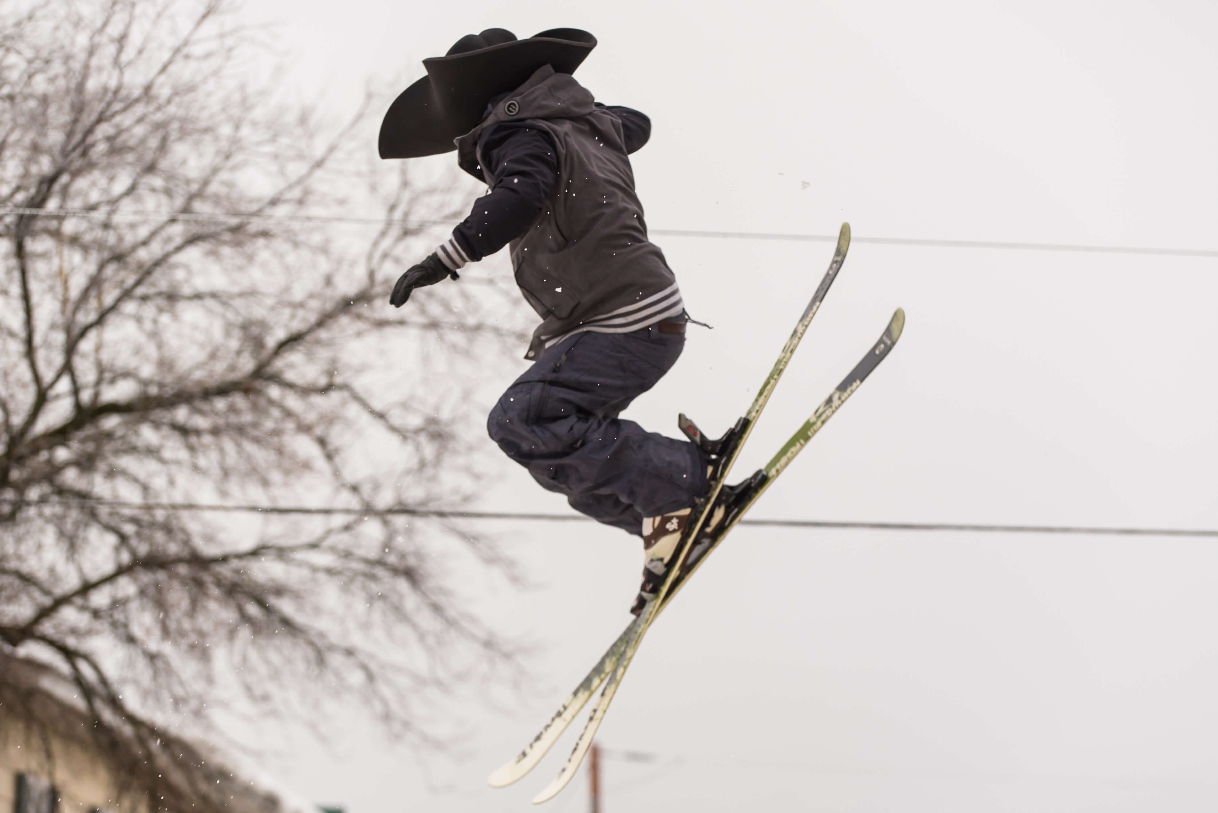 pirouettes à ski