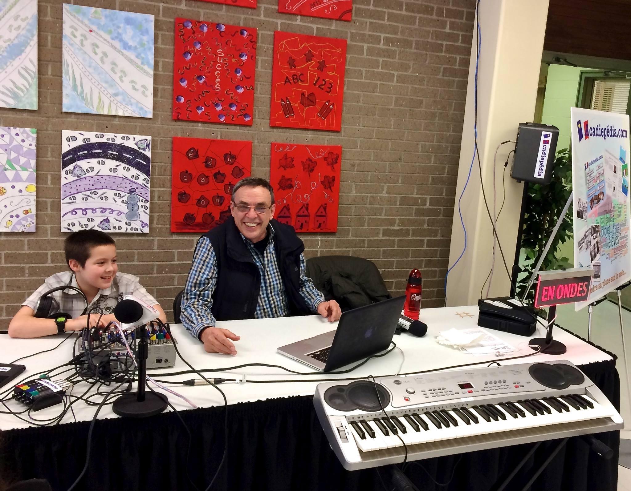 Radio Enfant Michel Delorme