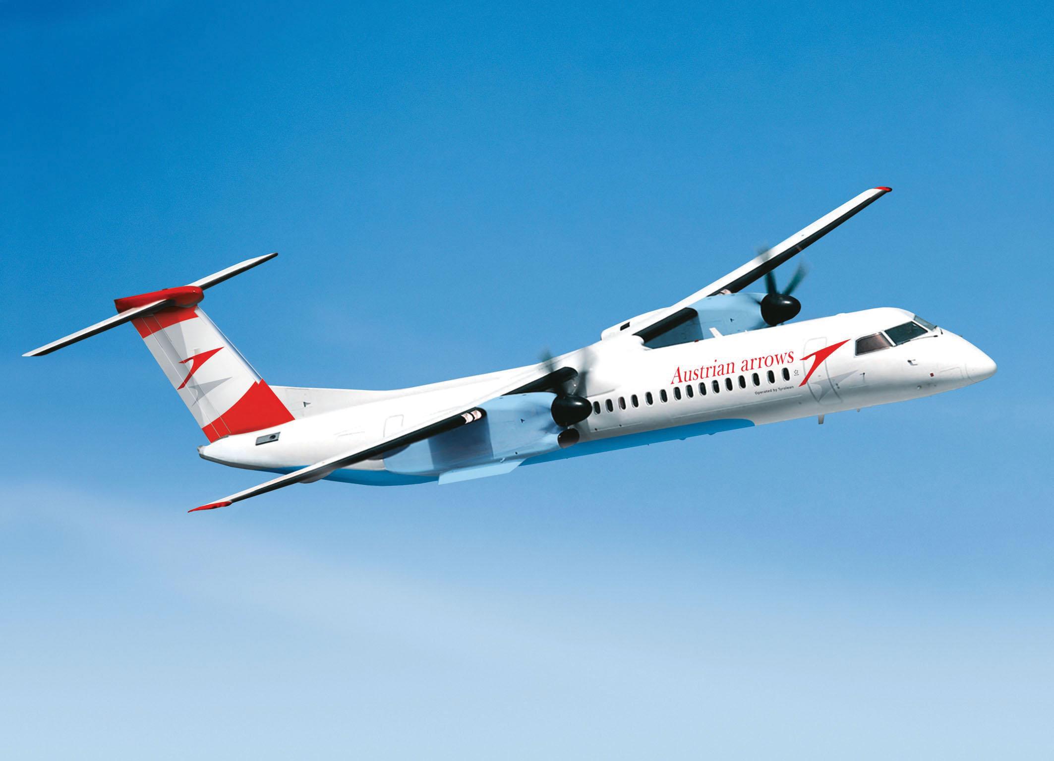 treq, avion Q400 Dash-8