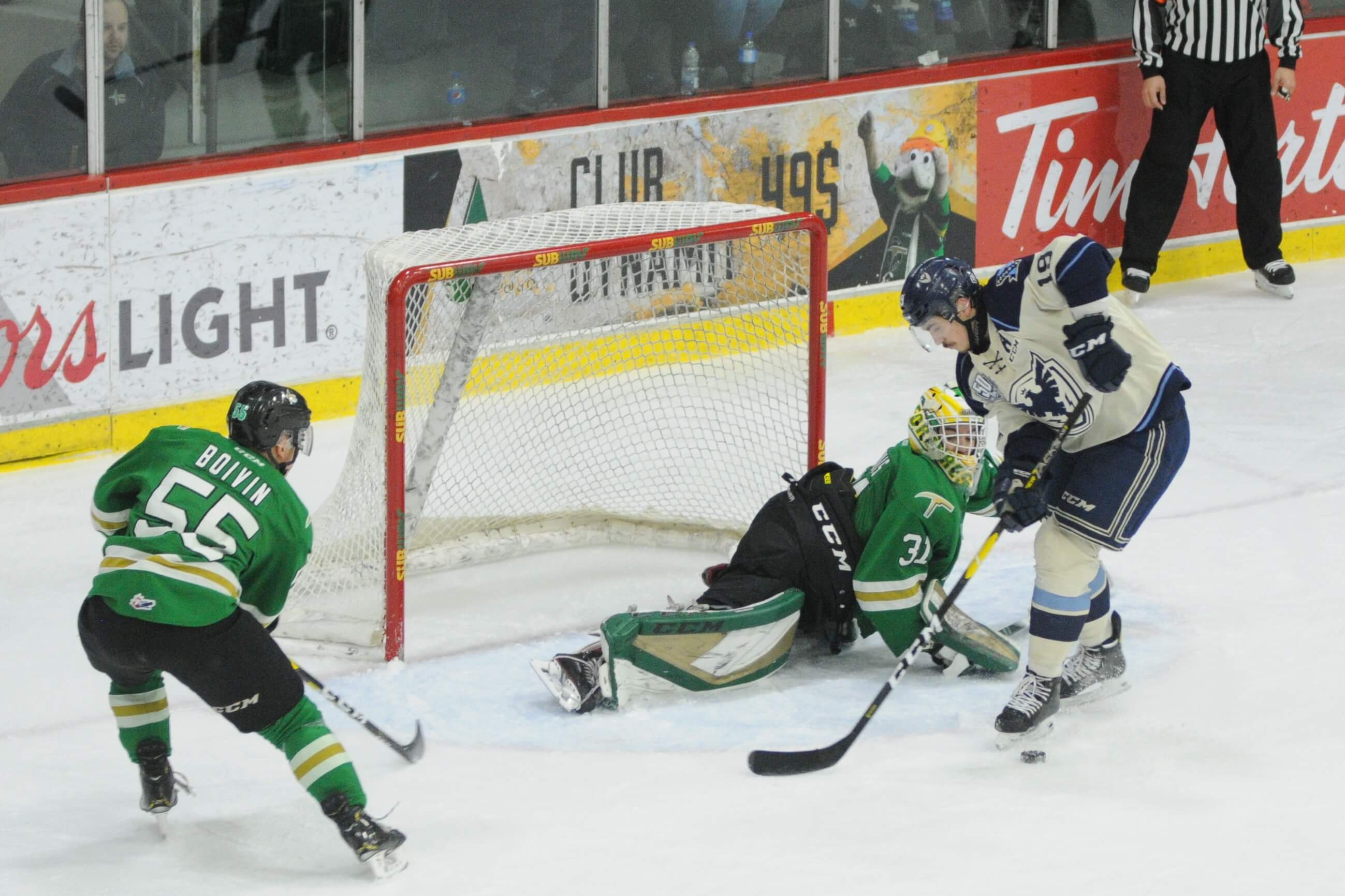 Phoenix Sherbrooke - Foreurs Val-d'Or