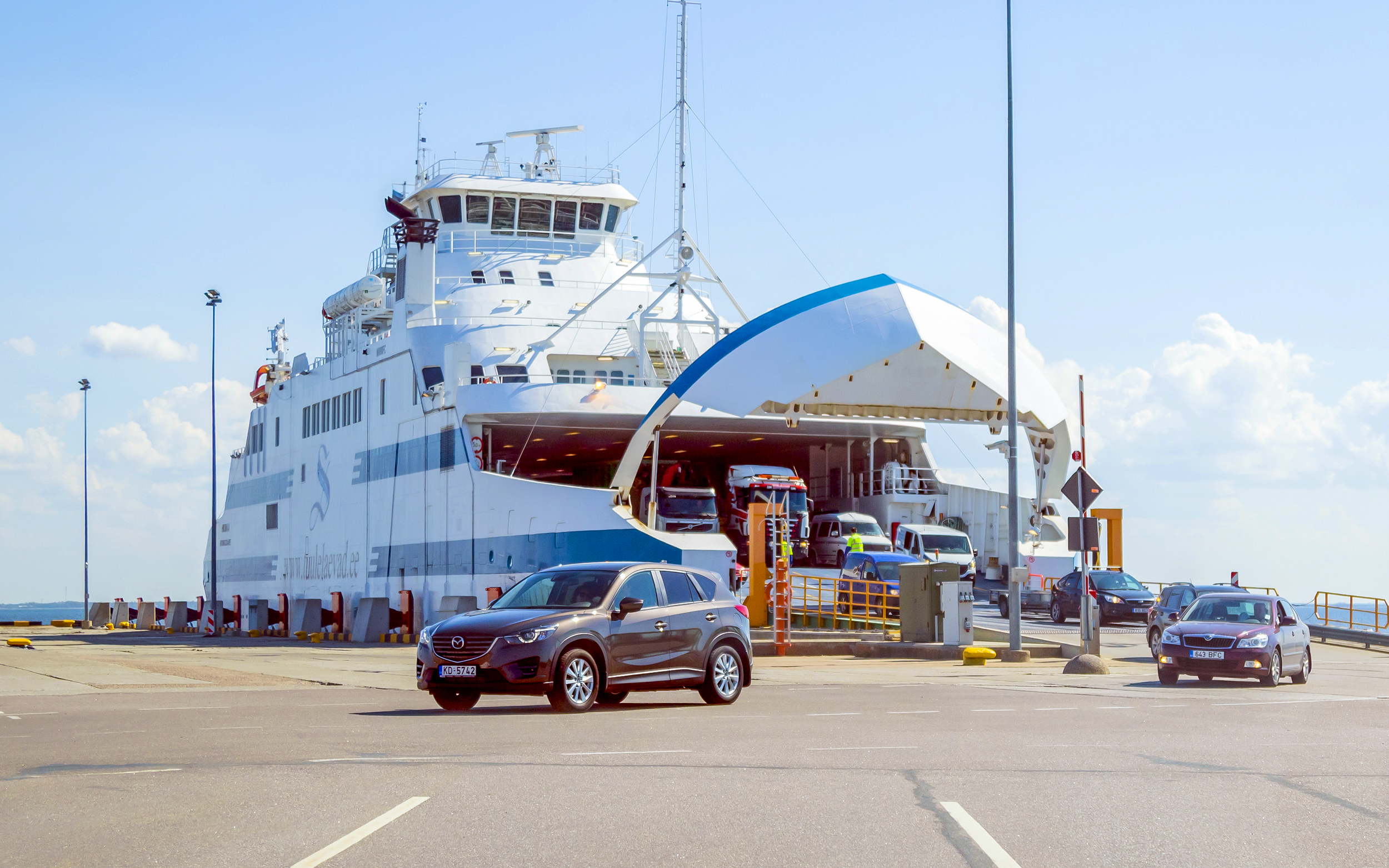 Saaremaa traversier STQ Matane
