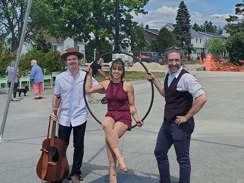 Cirque en tournée-résidences
