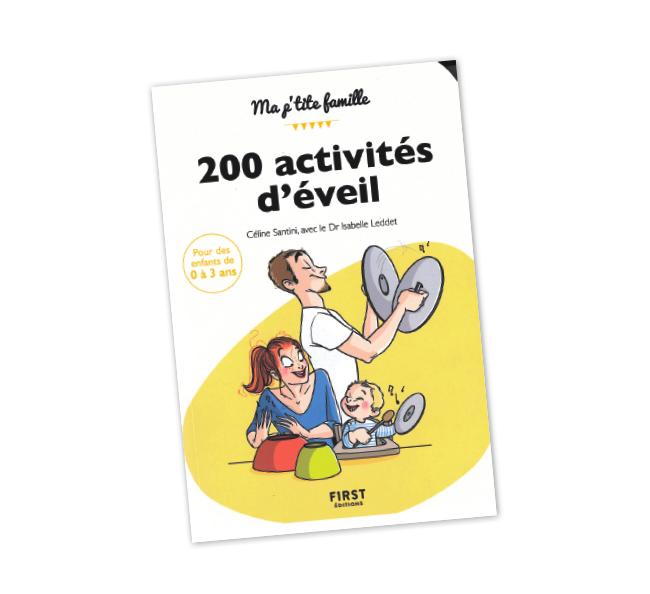 Livre 200 activités d'éveil