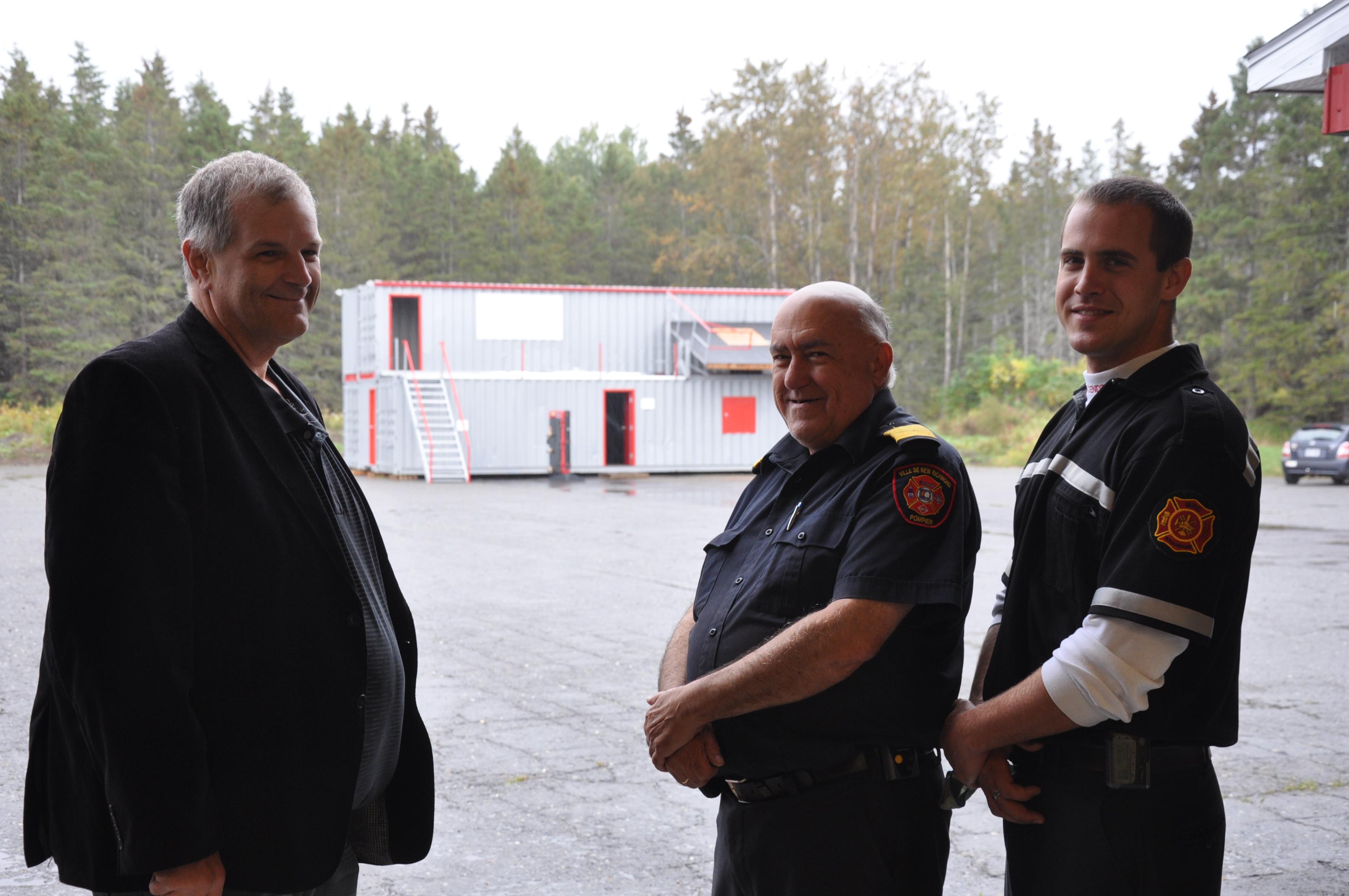 centre de formation pompiers volontaires New Richmond