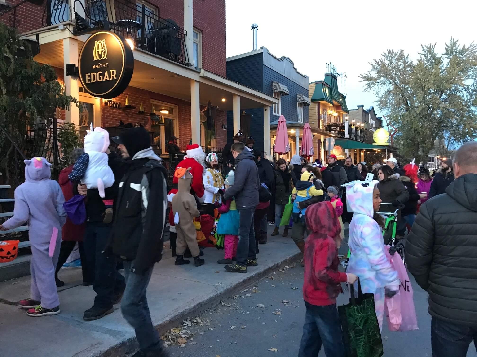 Une soirée d'Halloween au cœur du Quartier des Arts à L'Assomption