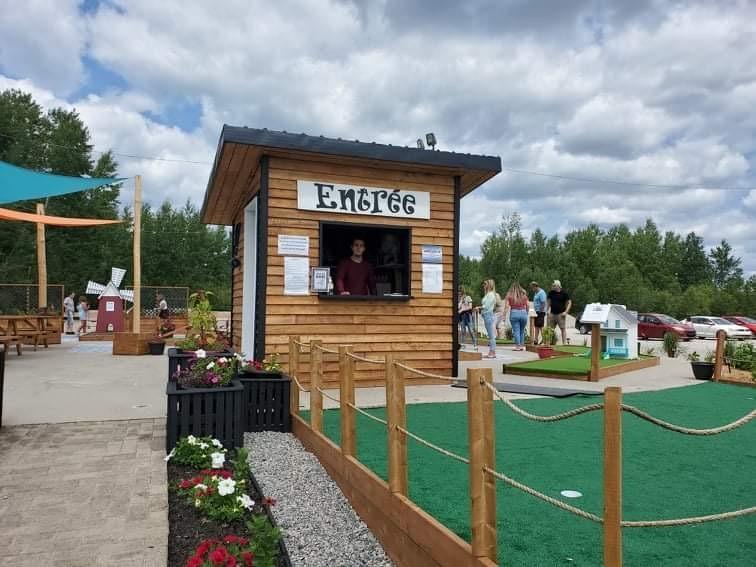 Mini-golf du 49e Villebois 2