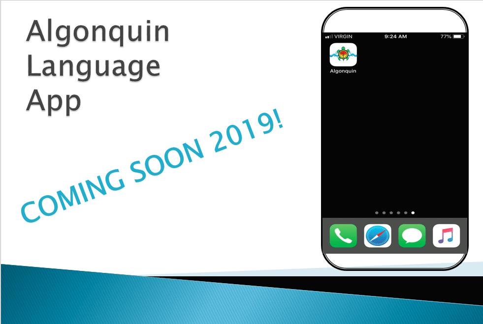 Algonquin Language App
