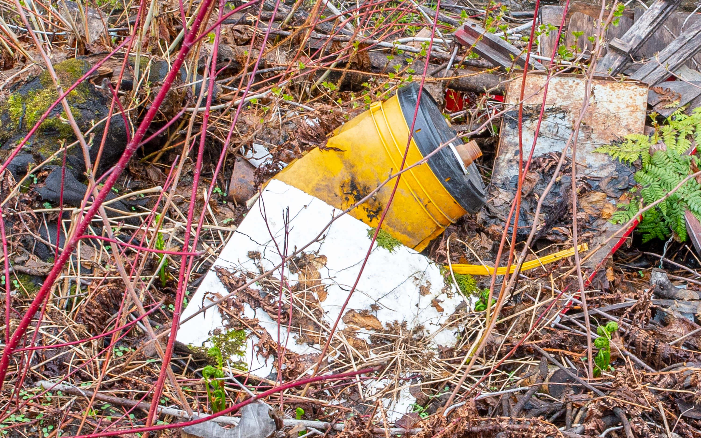 Dépotoir clandestin Petit-Matane déchets pollution