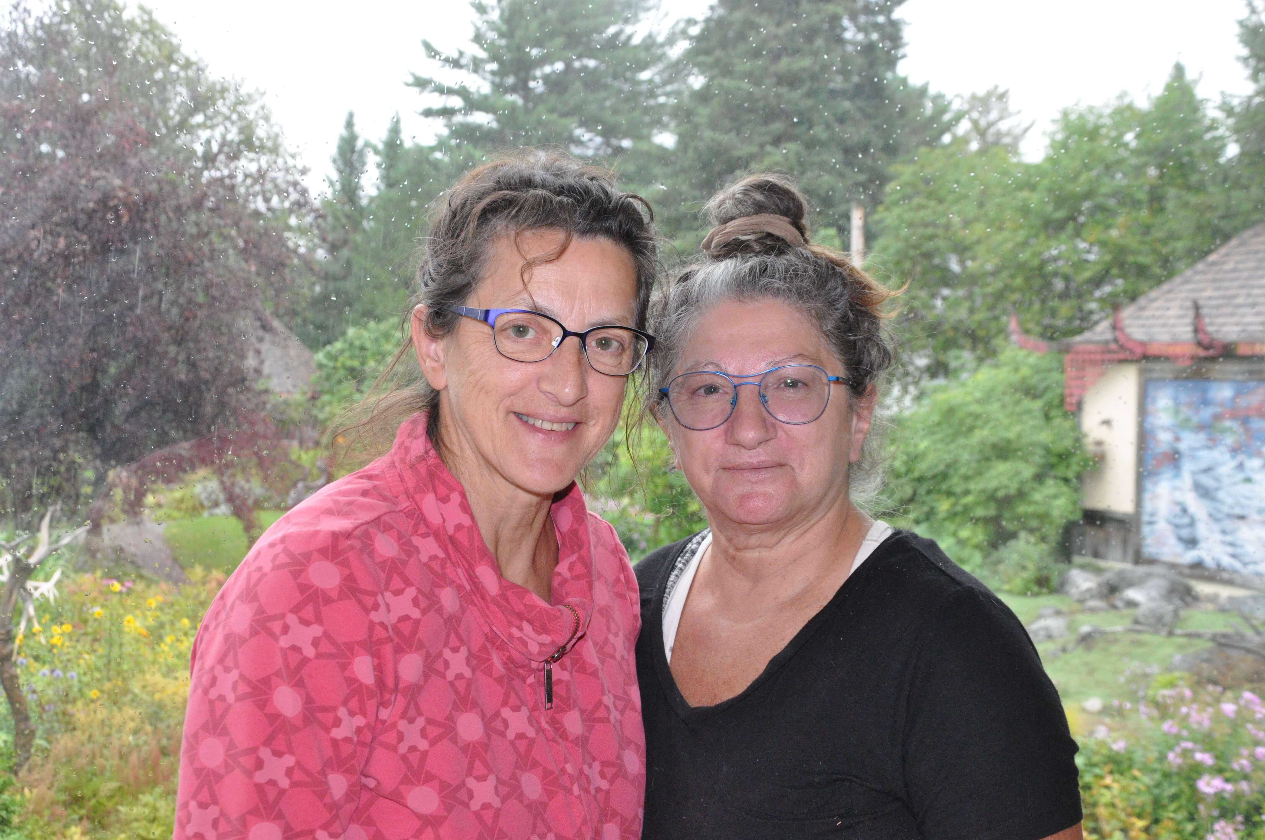 Micheline Plante et Francyne Plante