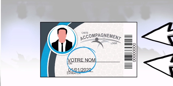 Carte accompagnement loisir