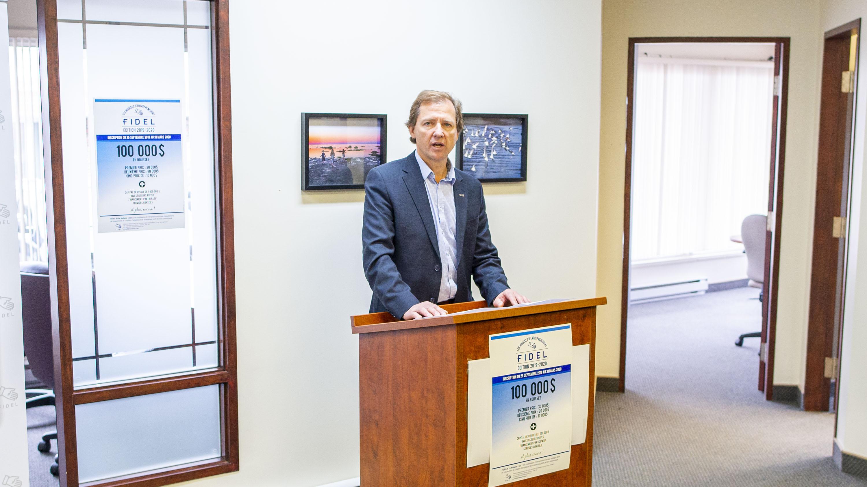 François Rioux président FIDEL de la Matanie