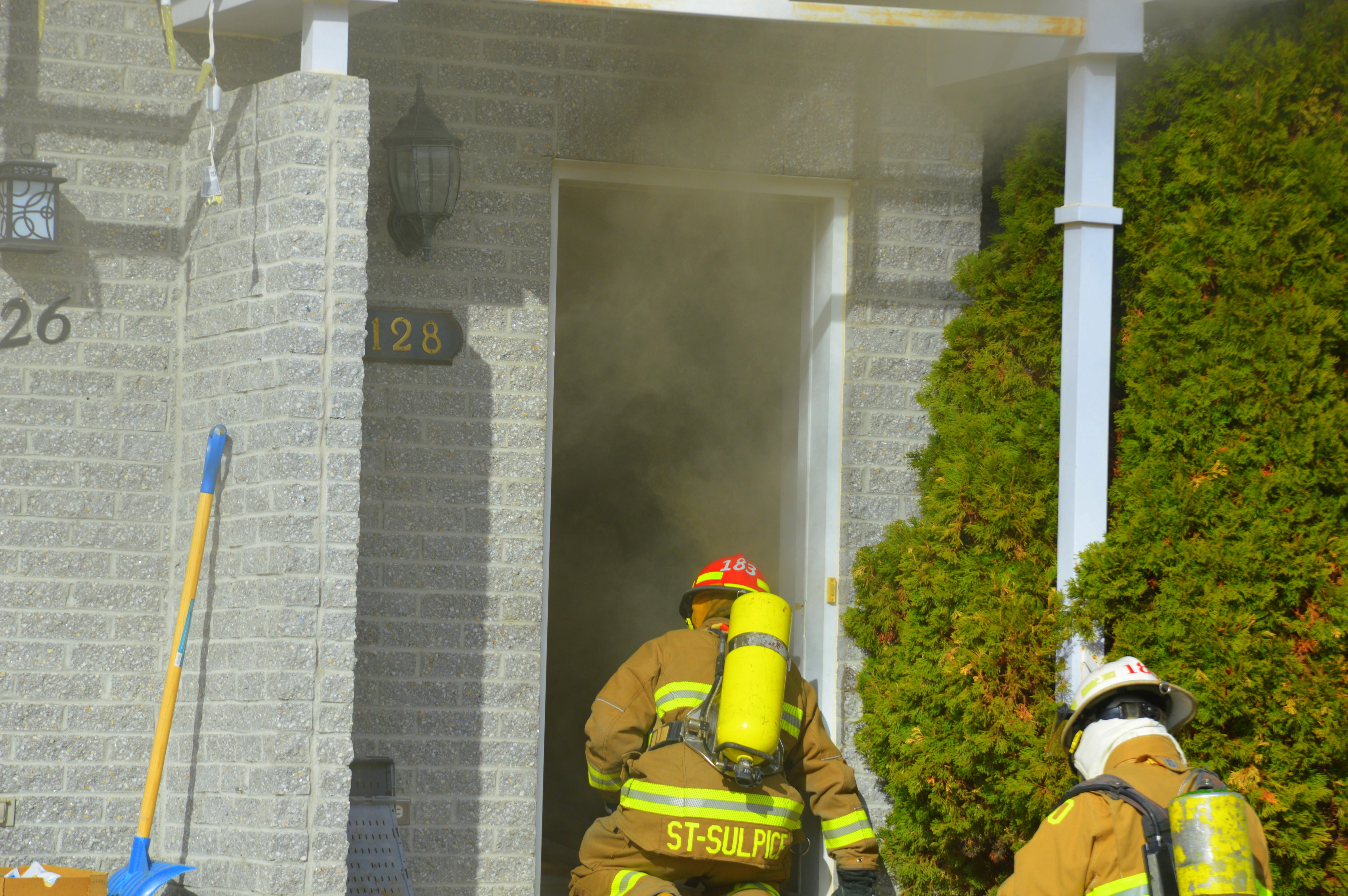 Incendie de bâtiment