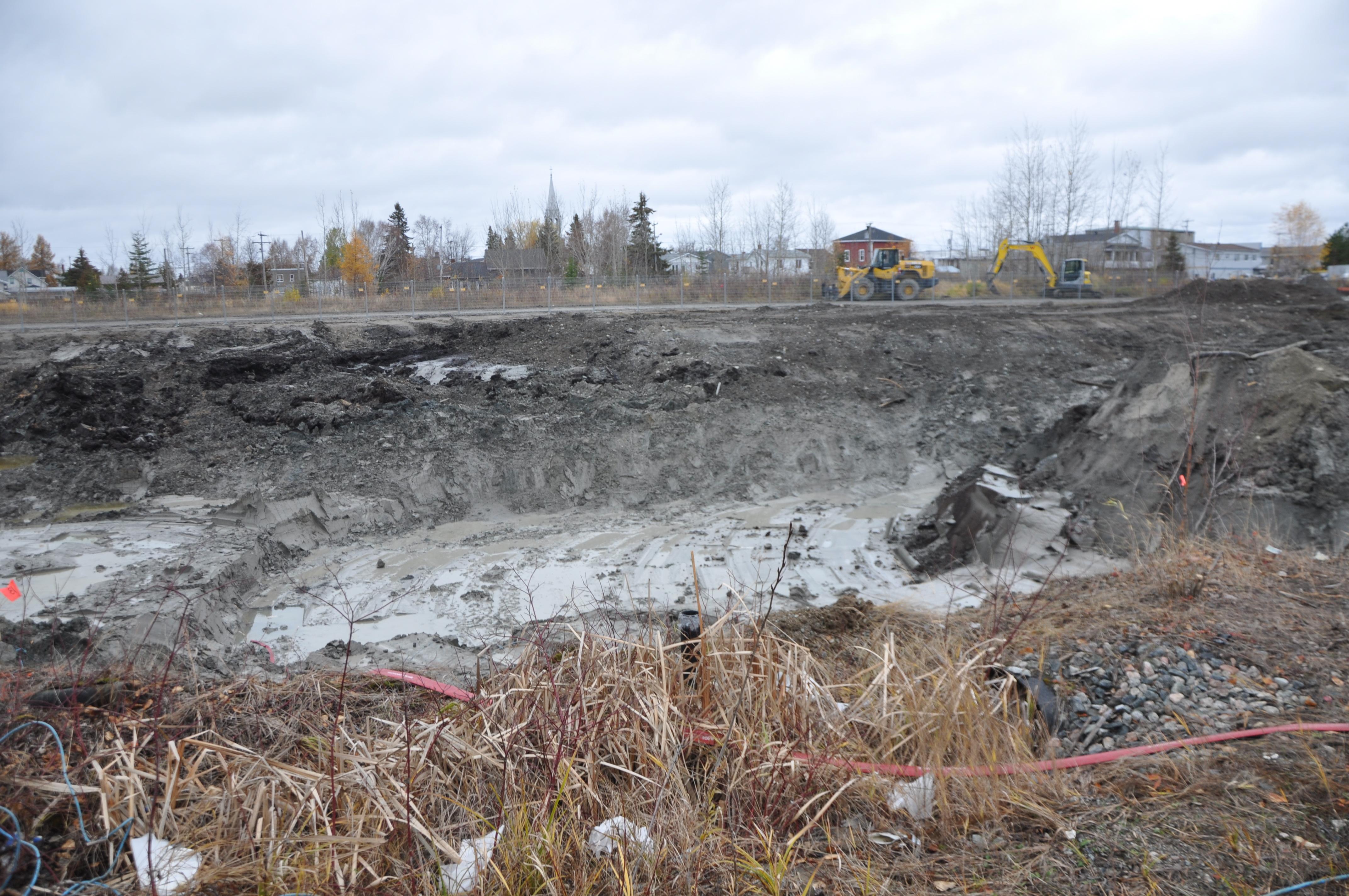 Terrain CN contaminé La Sarre