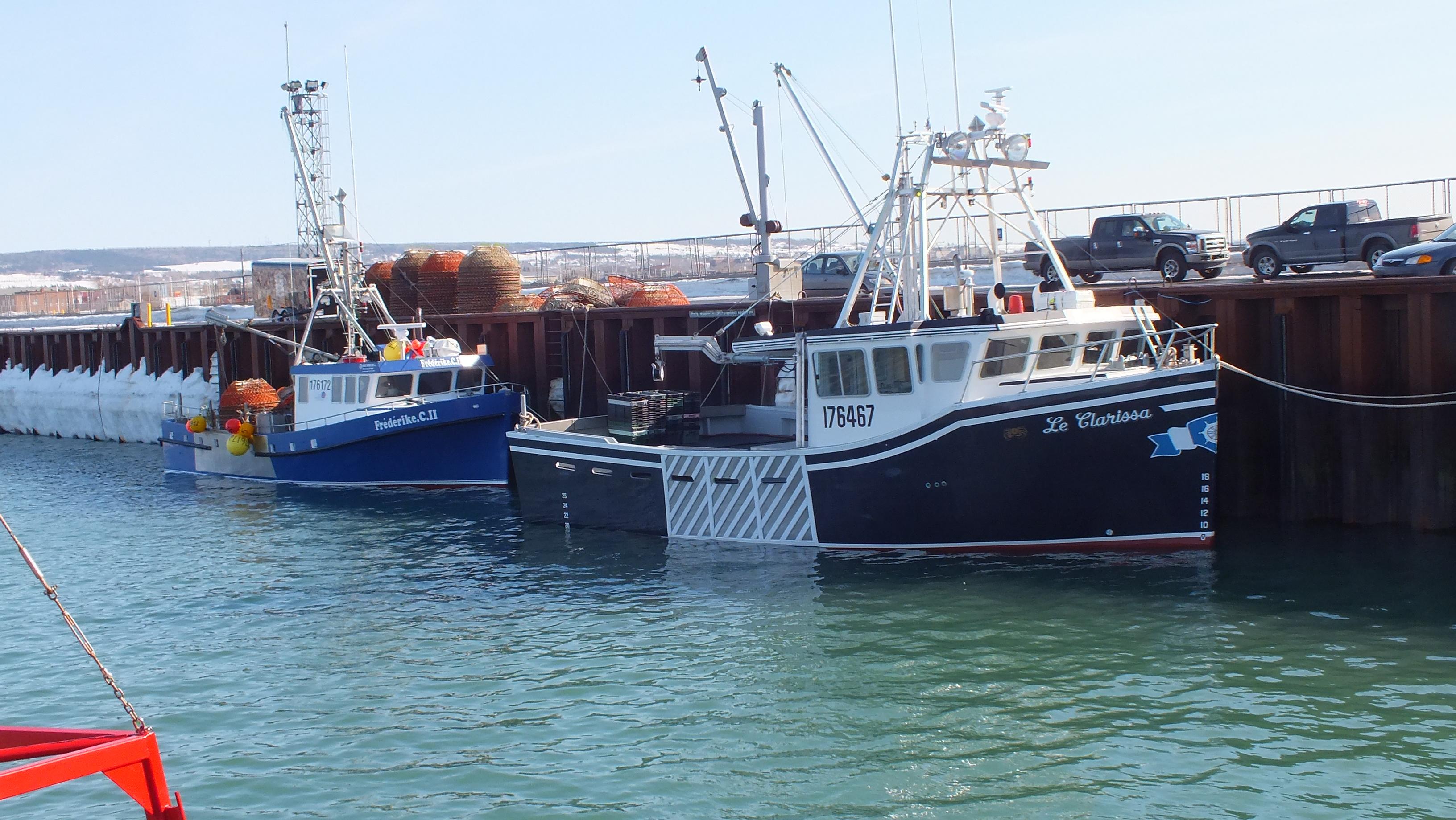 Crabiers - bateaux de pêche au crabe.