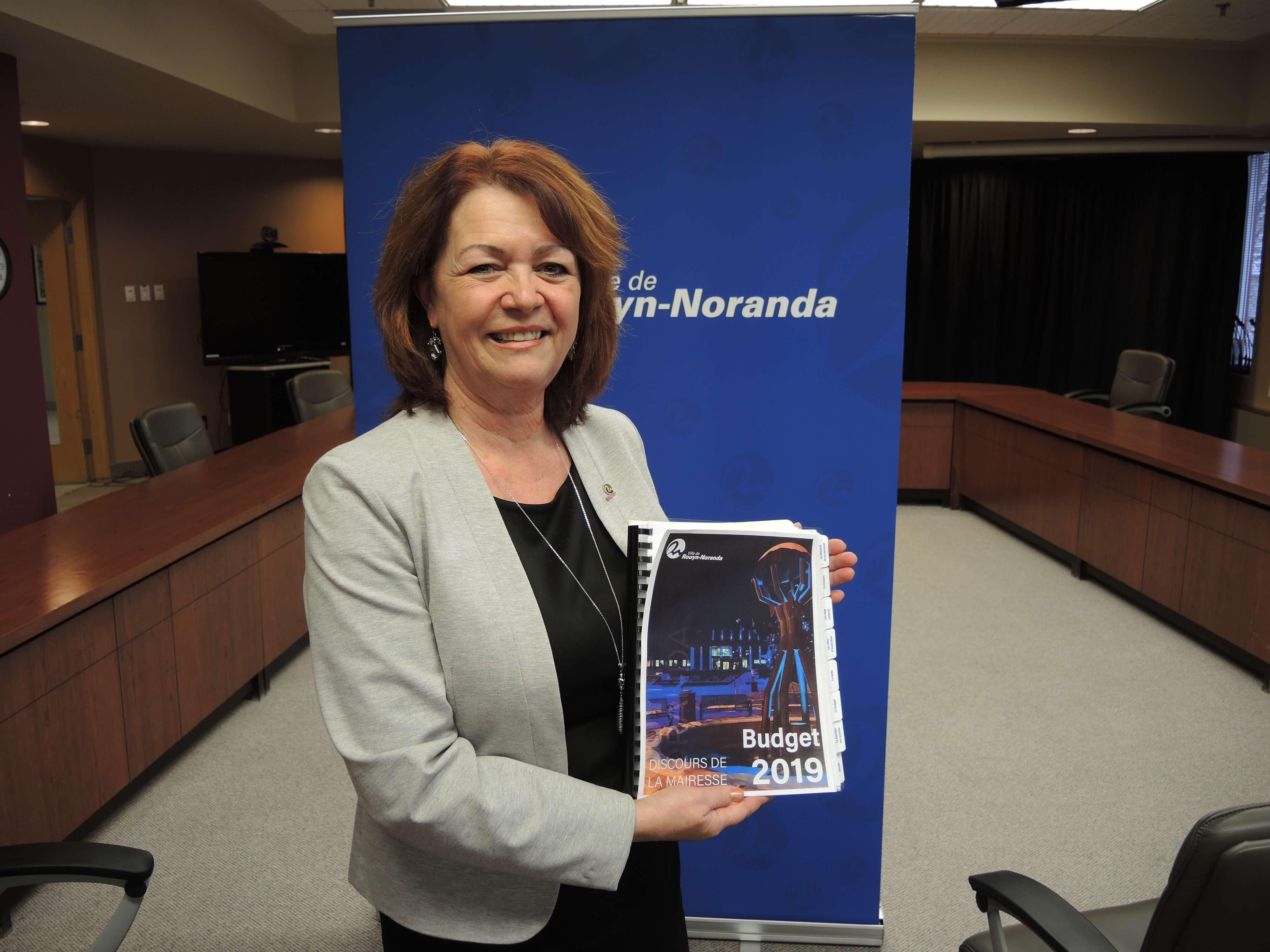 Diane Dallaire budget 2019 Rouyn-Noranda