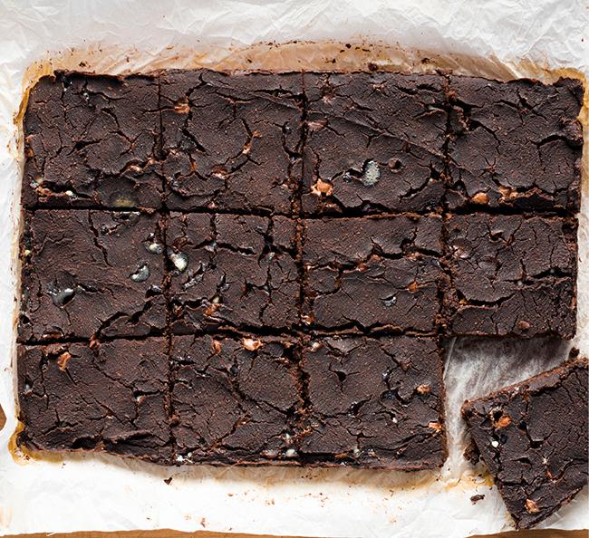 Triple salto brownies