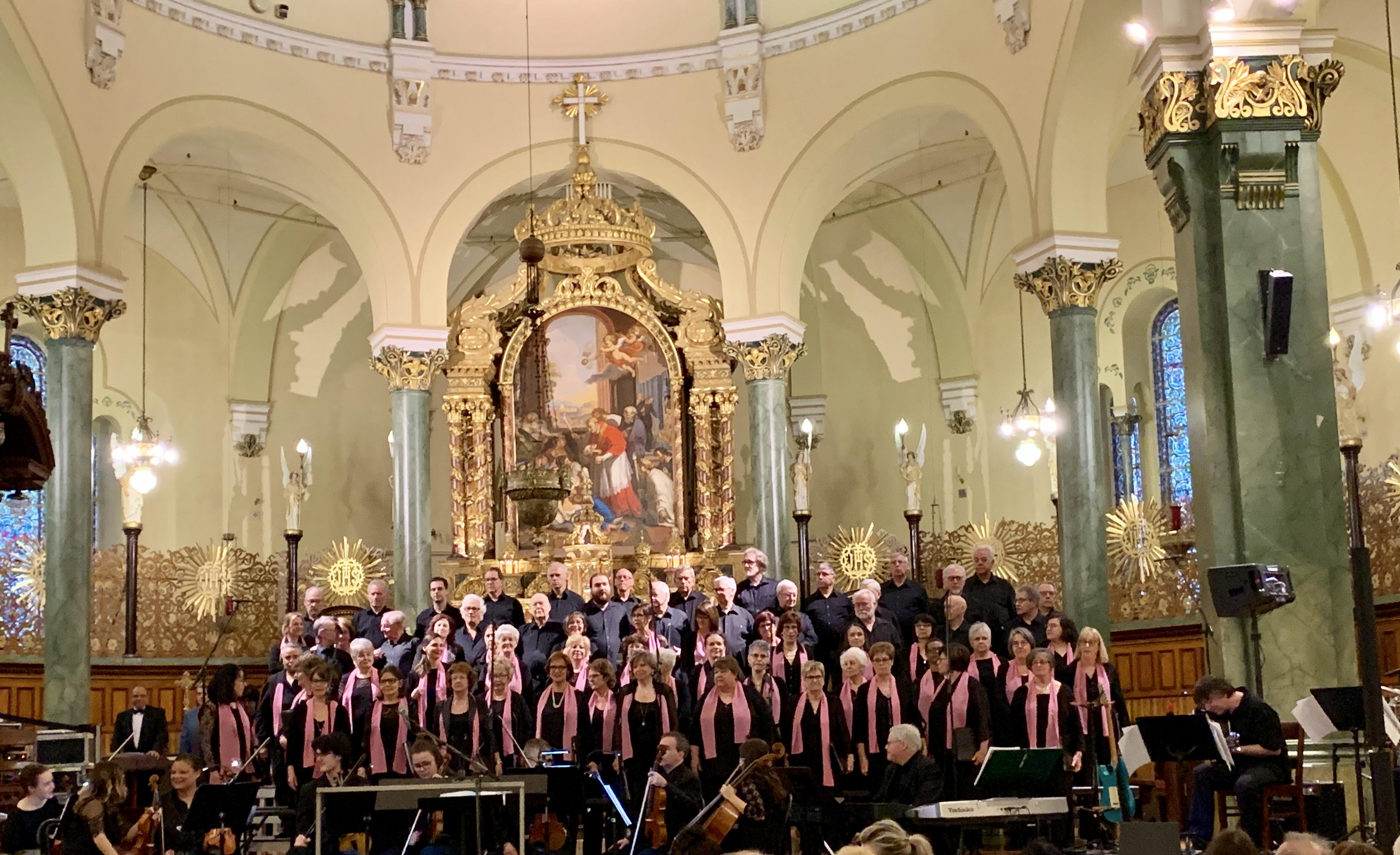 Chanteurs Place Bourget