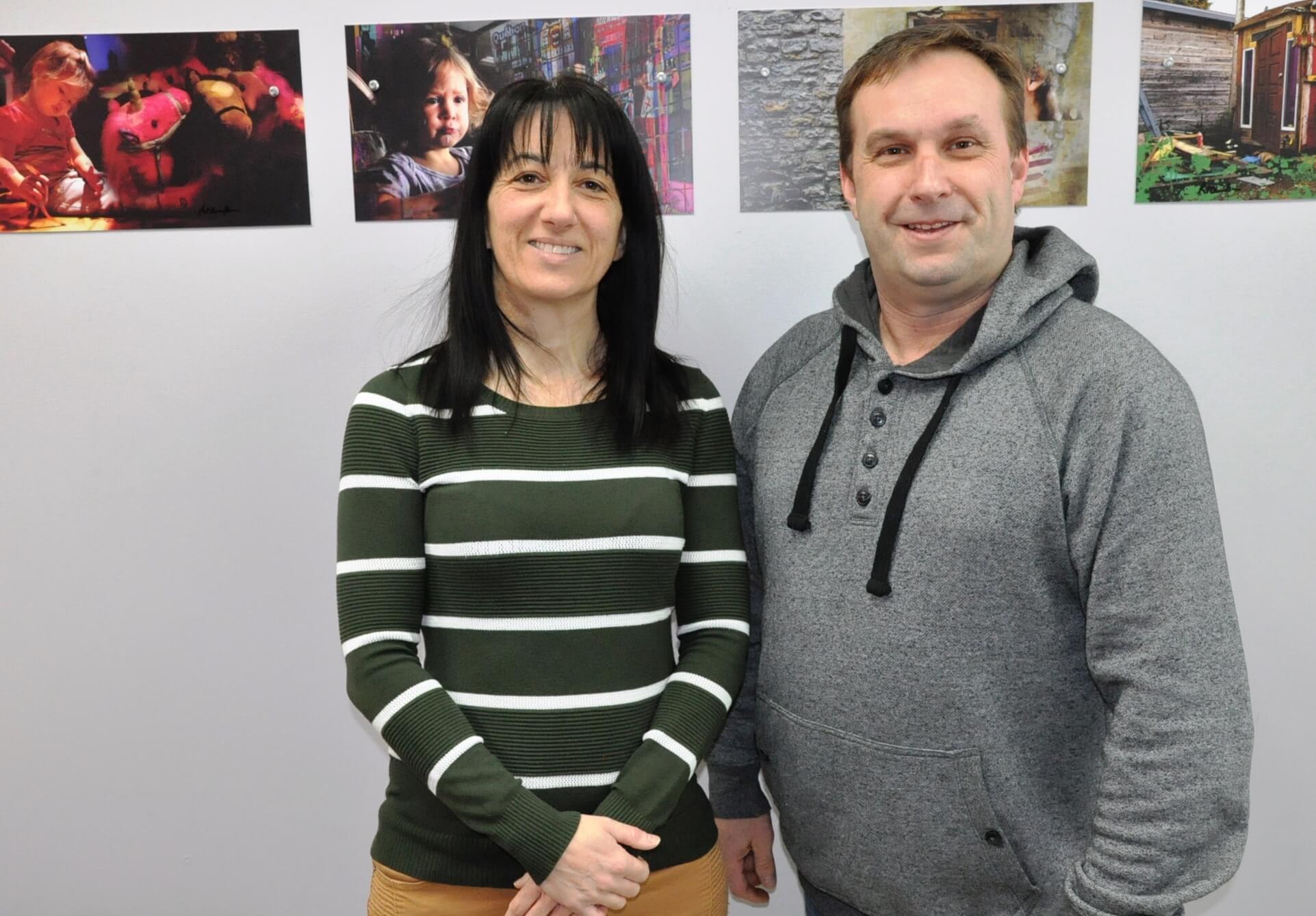 Annie Chenel et Stéphane Lemieux