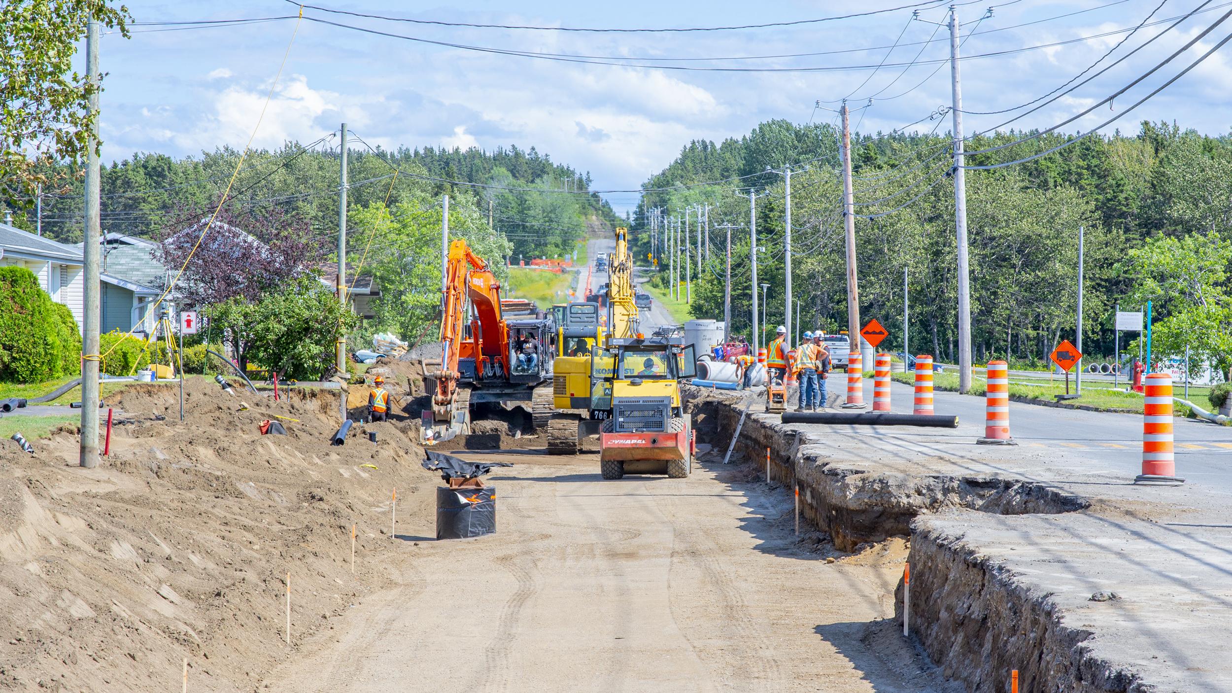 Construction route
