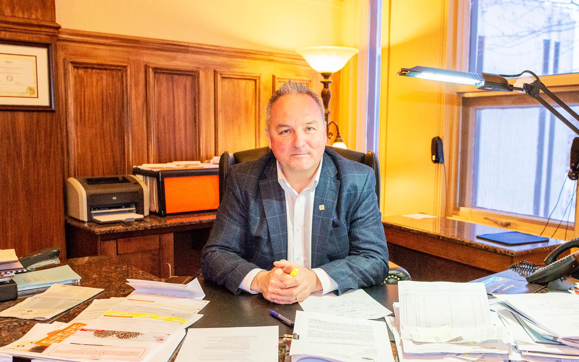 Jérôme Landry maire de Matane