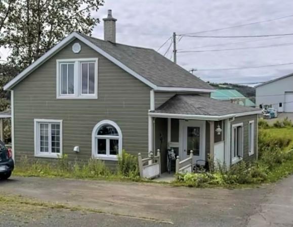 La maison de Georgette Rioux avant le drame.
