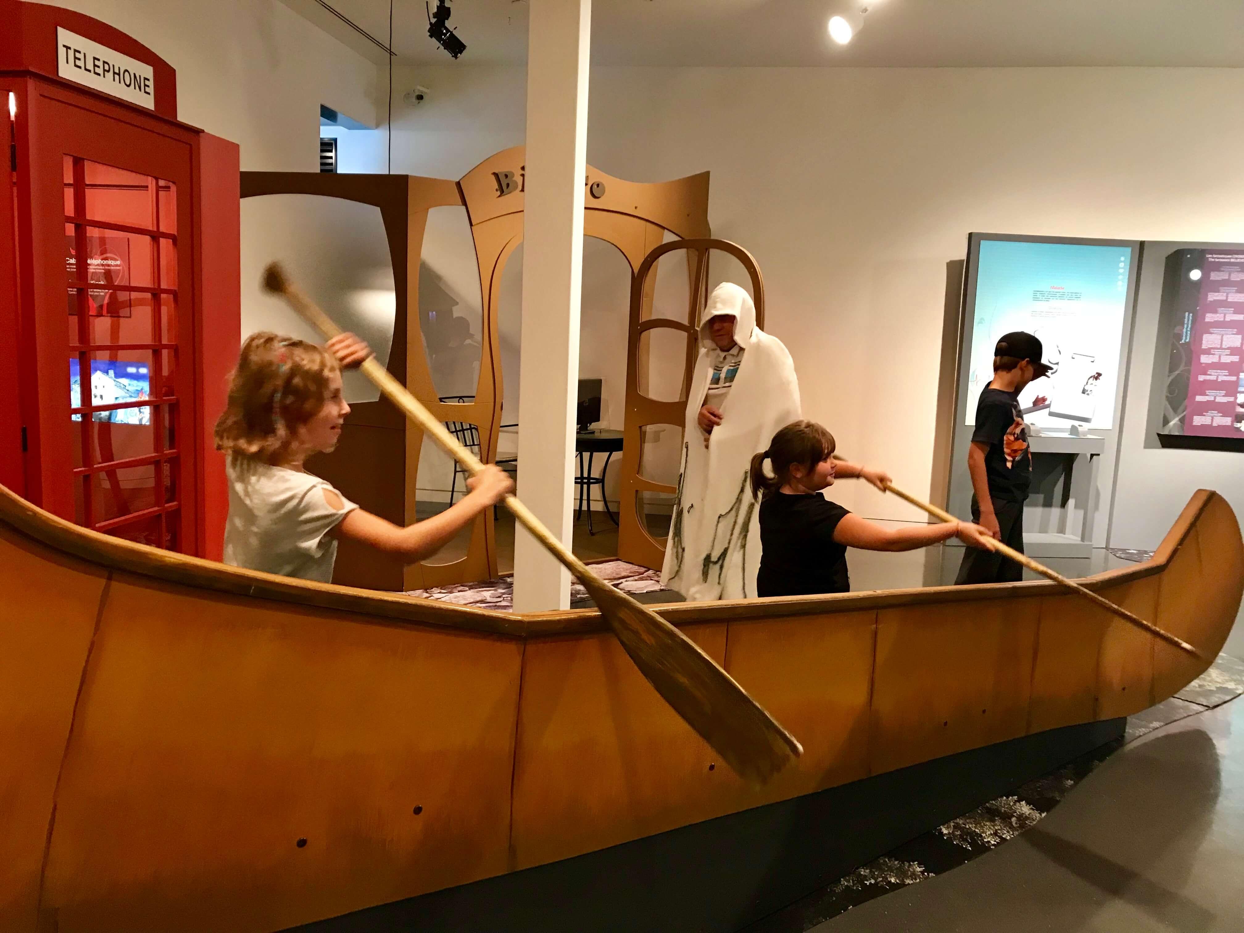 exposition mythes et légendes musée régional rimouski