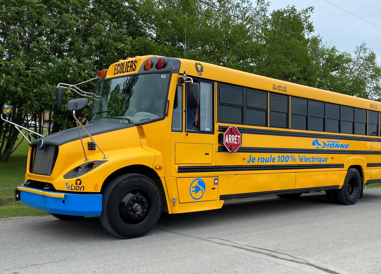 Dès la prochaine rentrée scolaire, Autobus Dionne de Rimouski comptera quatre autobus électriques.