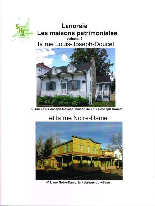 Guide maisons patrimoniales Lanoraie
