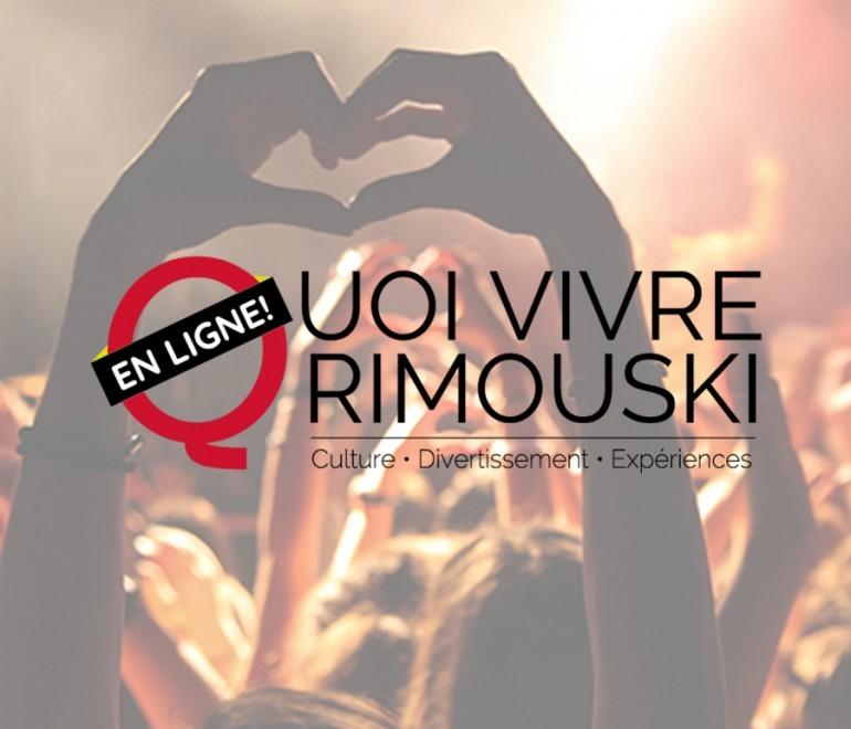 La plateforme Quoi vivre Rimouski offre de nouvelles fonctionnalités et devient transactionnelle.
