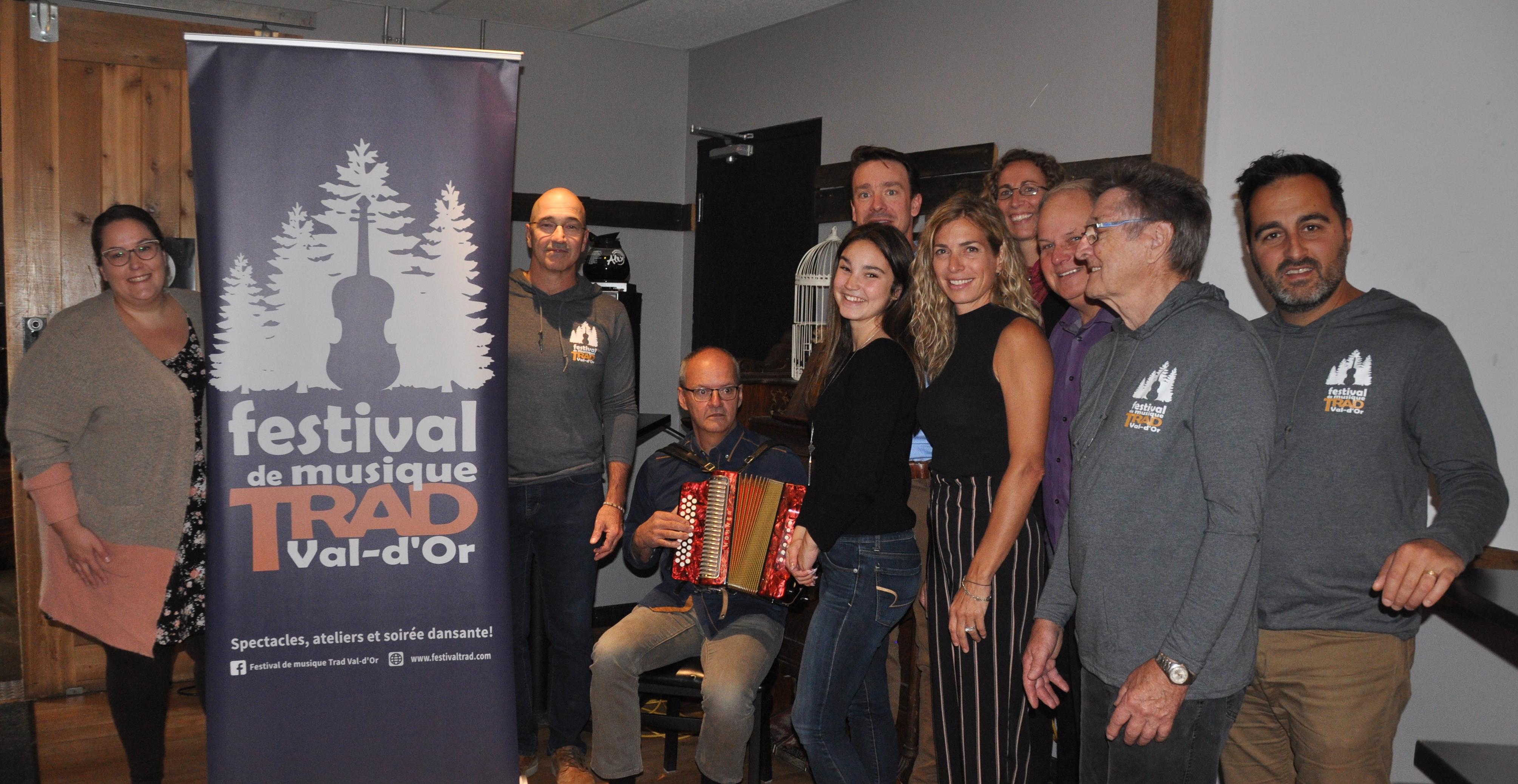 Festival de musique trad de Val-d'Or
