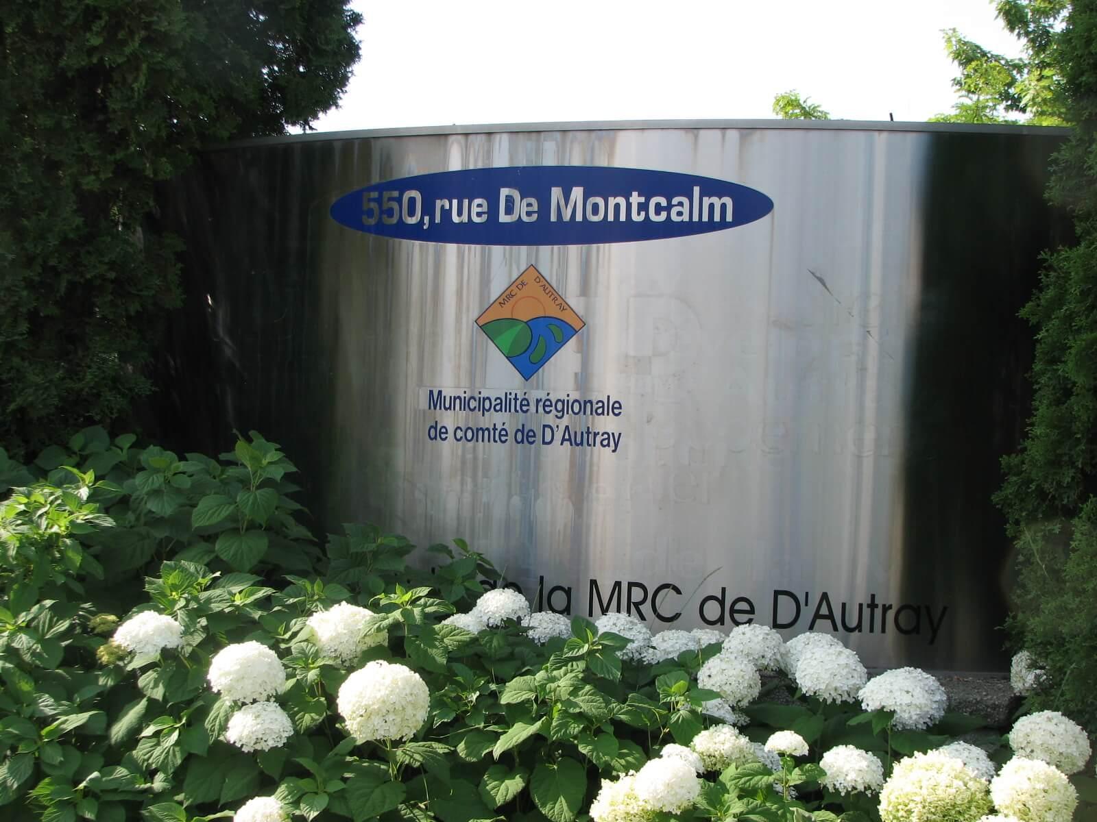 affiche MRC de D'Autray