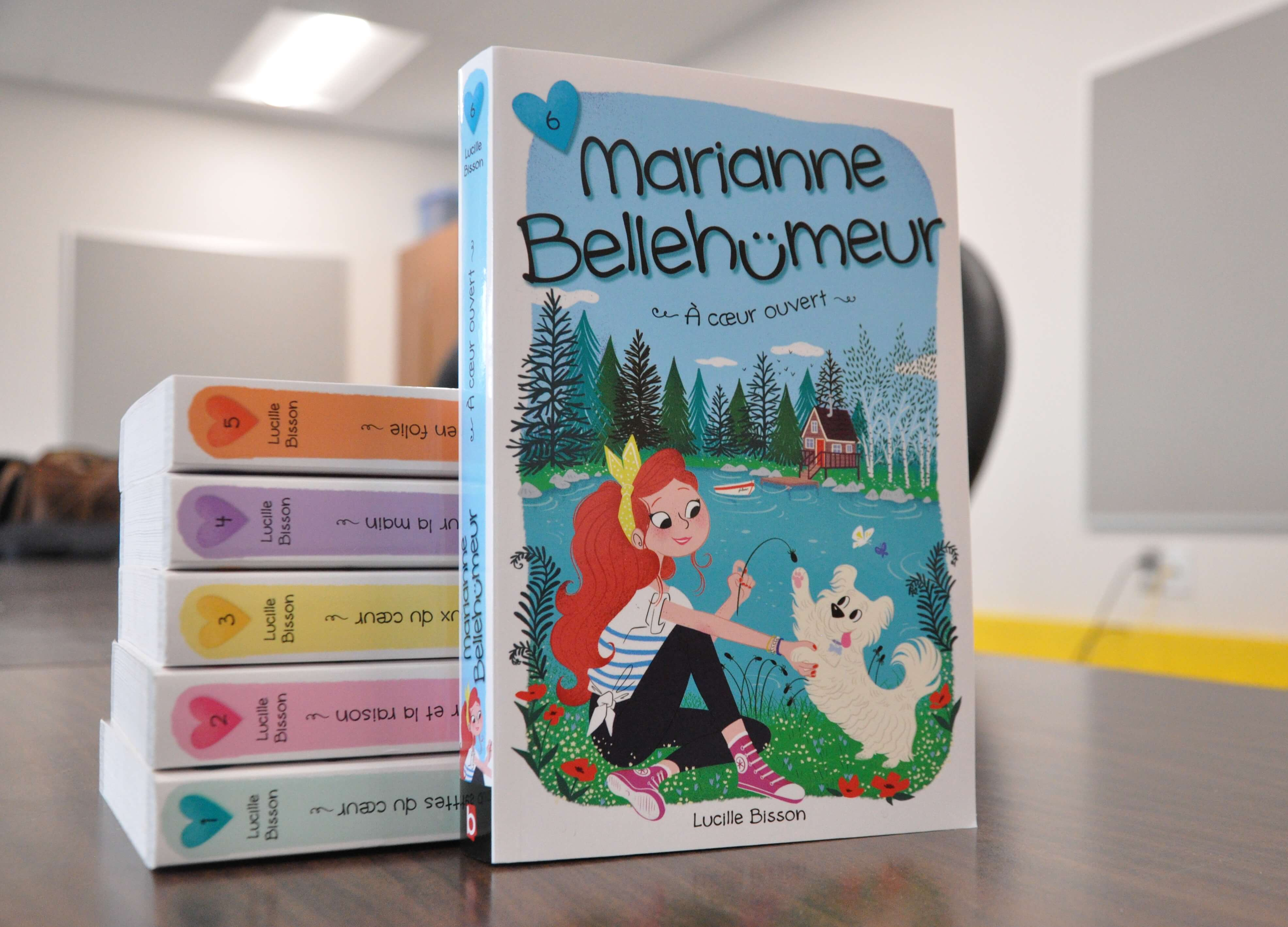 Marianne Bellehumeur livre romans jeunesse québécois 2018 Lucille Bisosn
