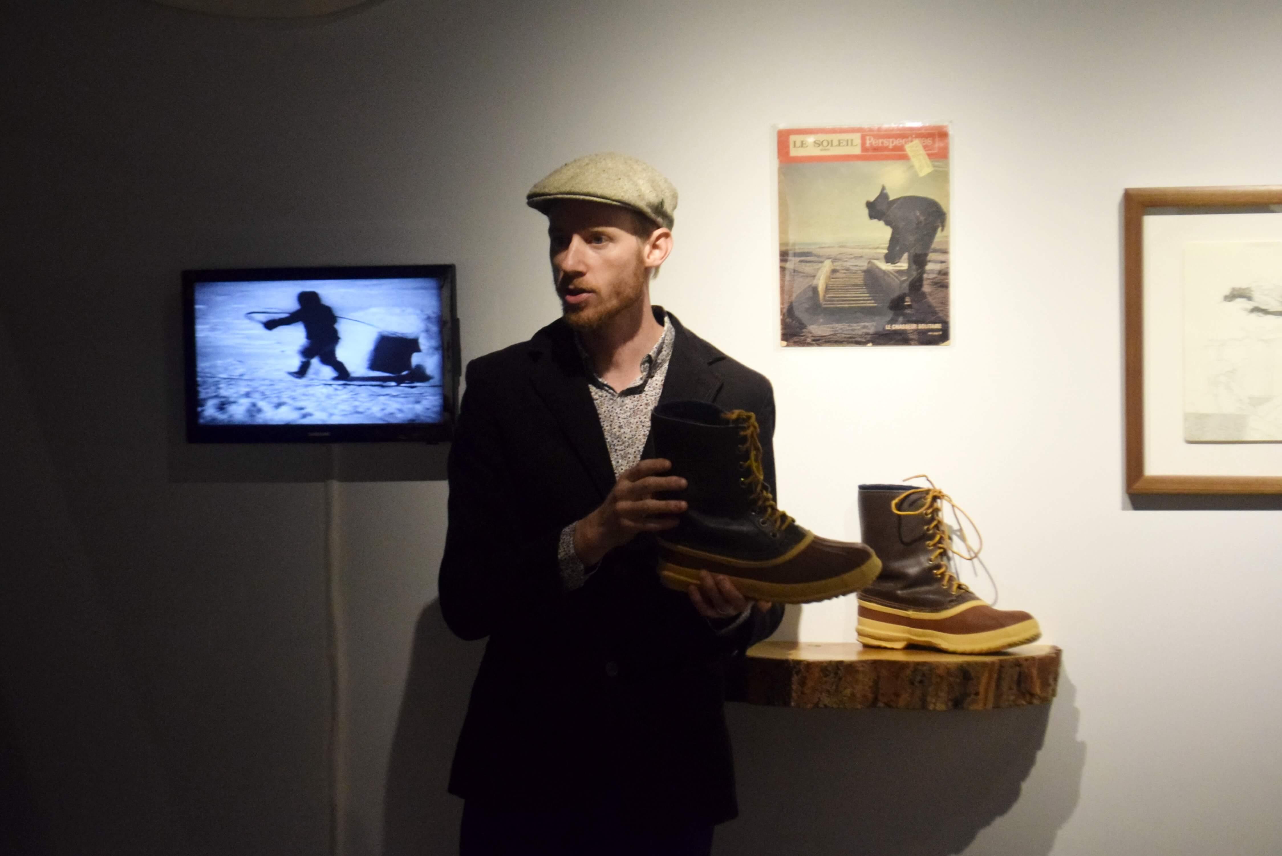 Samuel Breton exposition Eskimo Sorel
