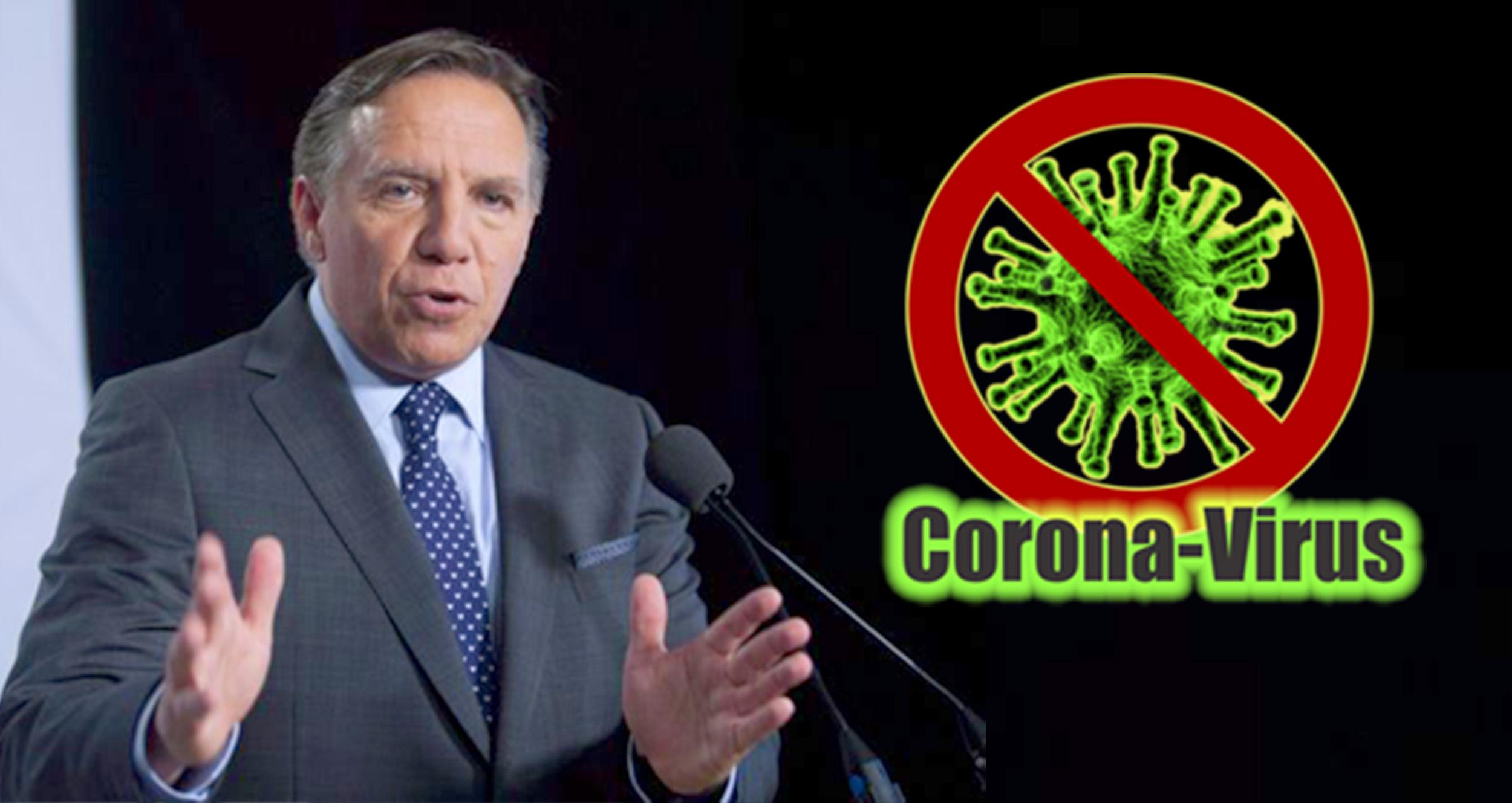 Coronavirus François Legault