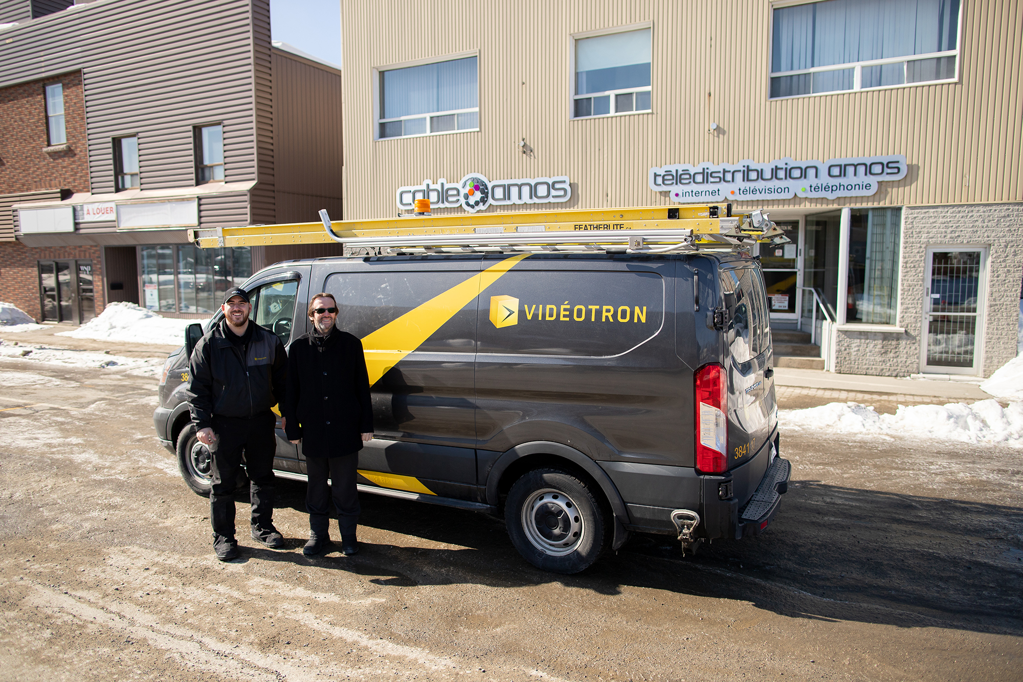 Videotron technicien Michel Tanguay