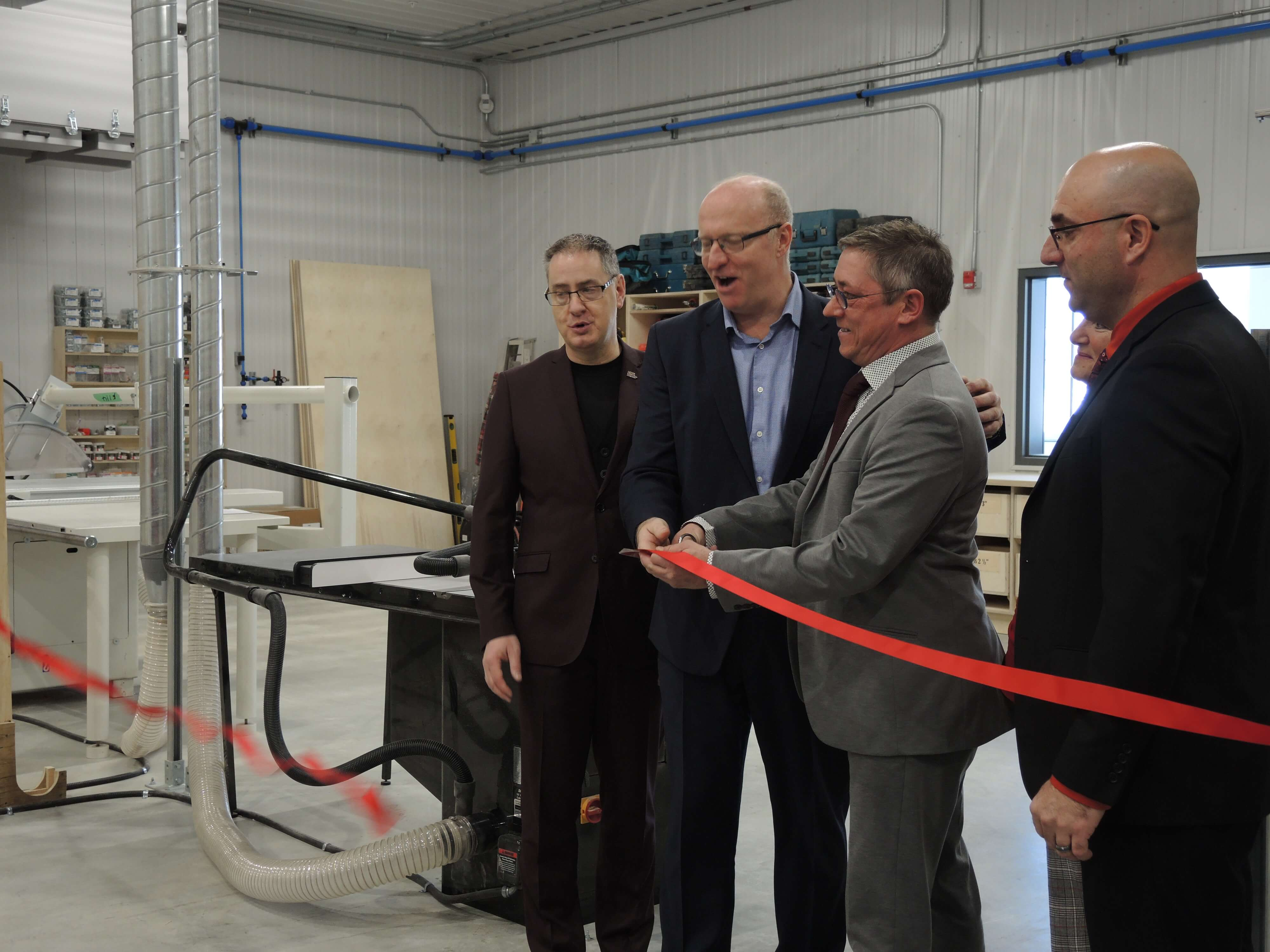 Inauguration polymetier Rouyn-Noranda