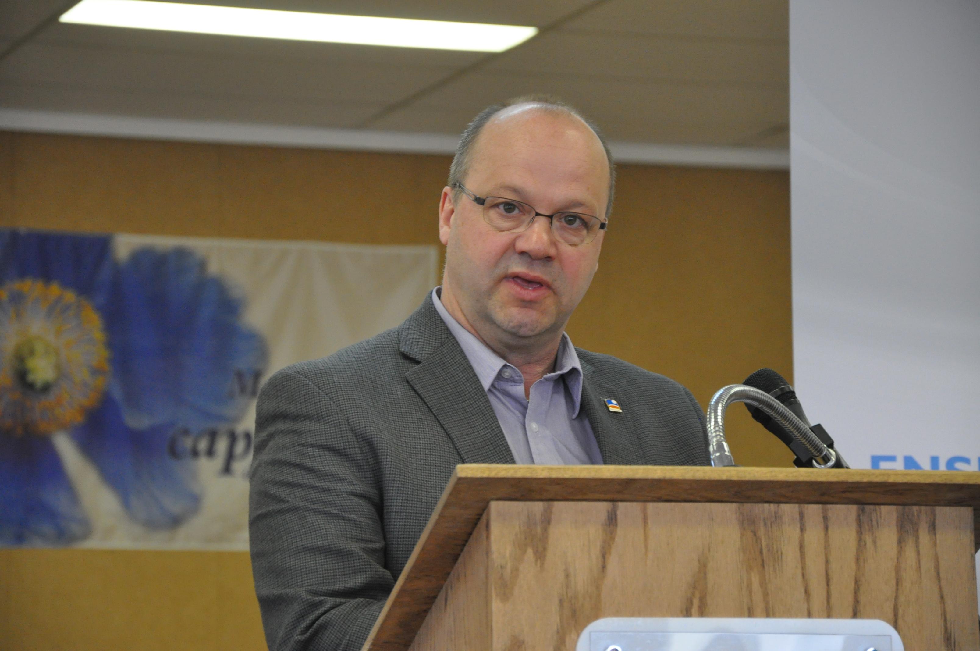 Le maire de Mont-Joli, Martin Soucy.