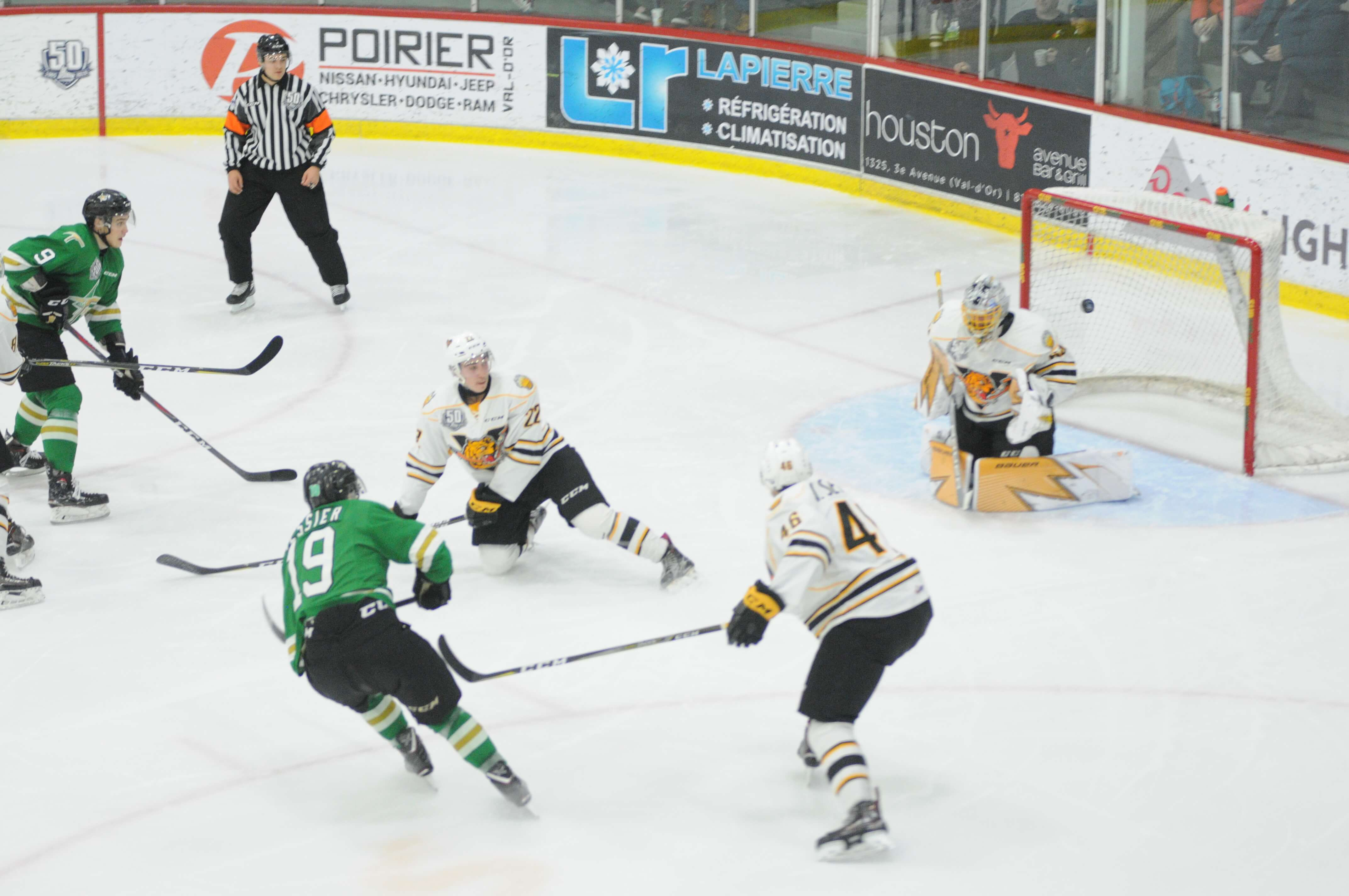 Tigres Victoriaville - Foreurs Val-d'Or