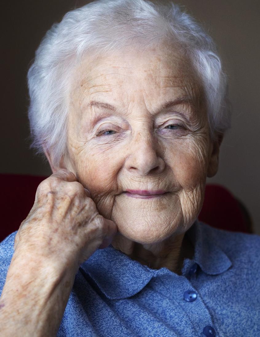Rita Blais, une résidente du Manoir Les Générations de Rimouski, a célébré son 100e anniversaire le 23 février.