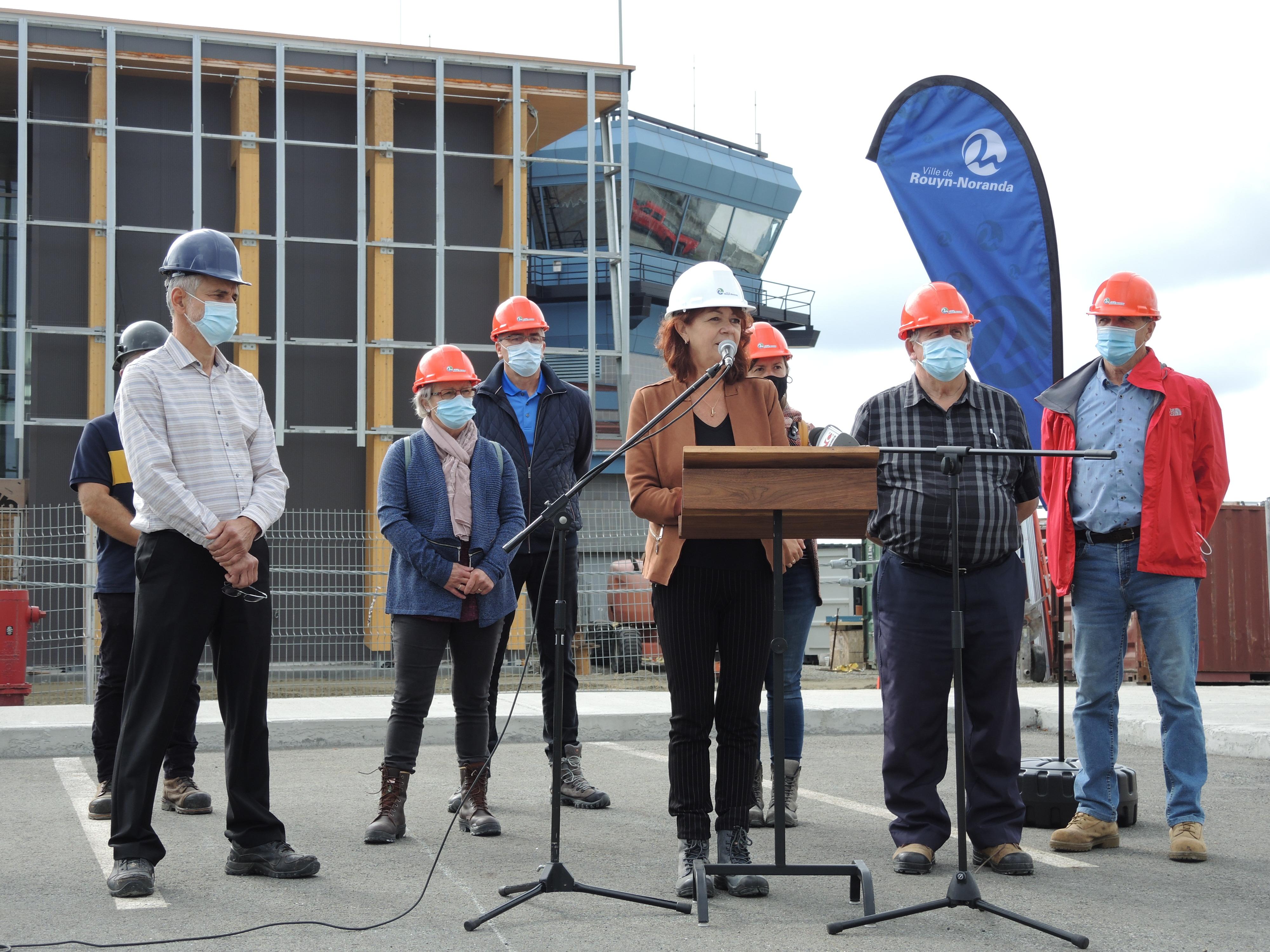 Diane Dallaire conseil aéroport Rouyn-Noranda Nav Canada