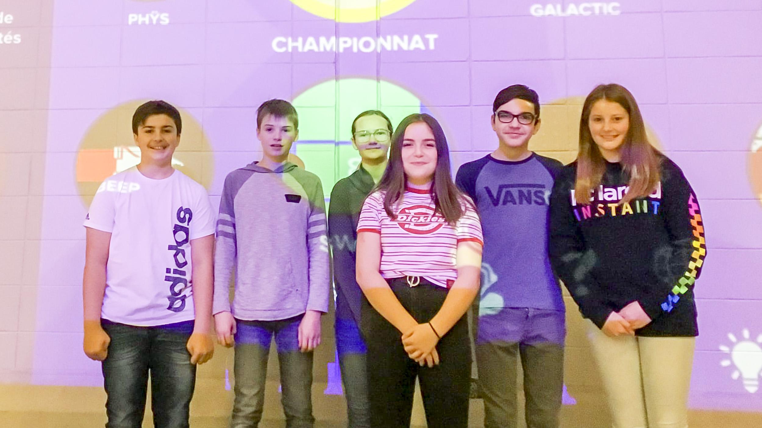 Compétition LÜ Saint-Ulric école Mgr-Belzile
