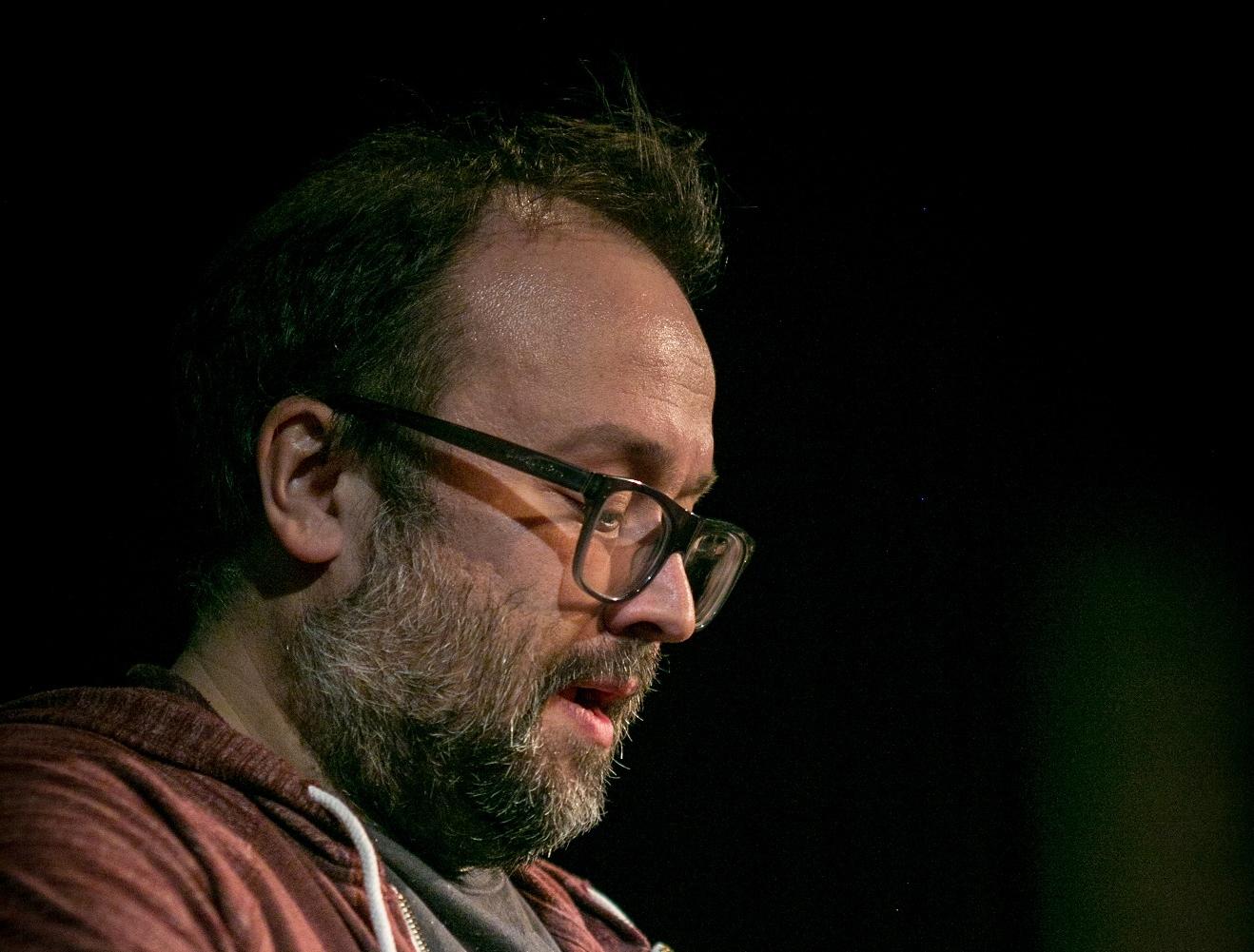 Le comédien Jonathan Gagnon.
