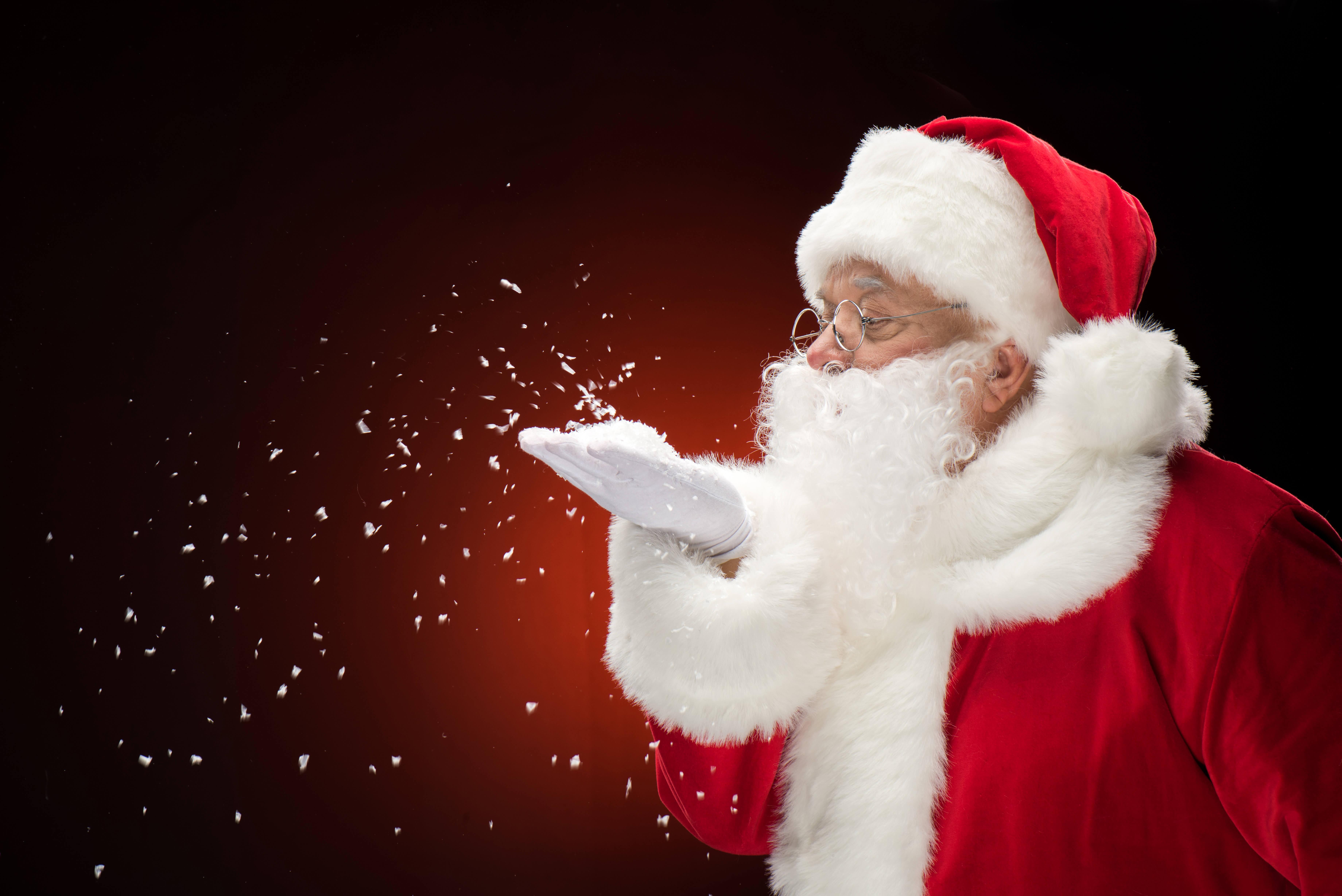 Père Noël à Saint-Lin-Laurentides