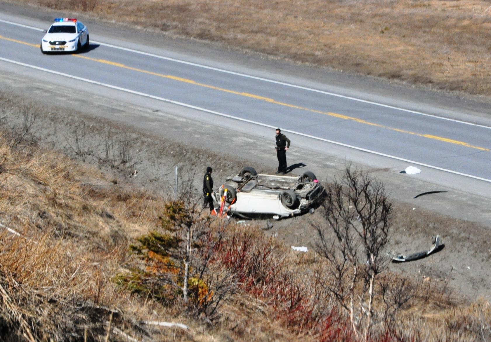 accident Sainte-Anne-des-Monts