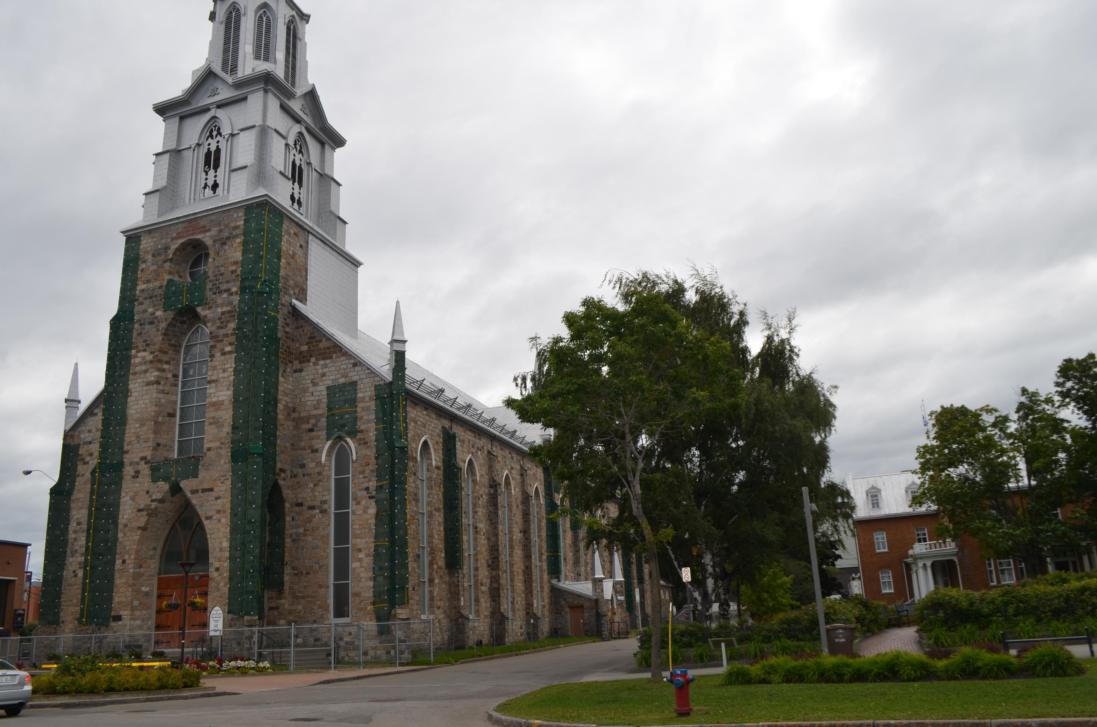 La cathédrale de Rimouski est fermée depuis le 28 novembre 2014.