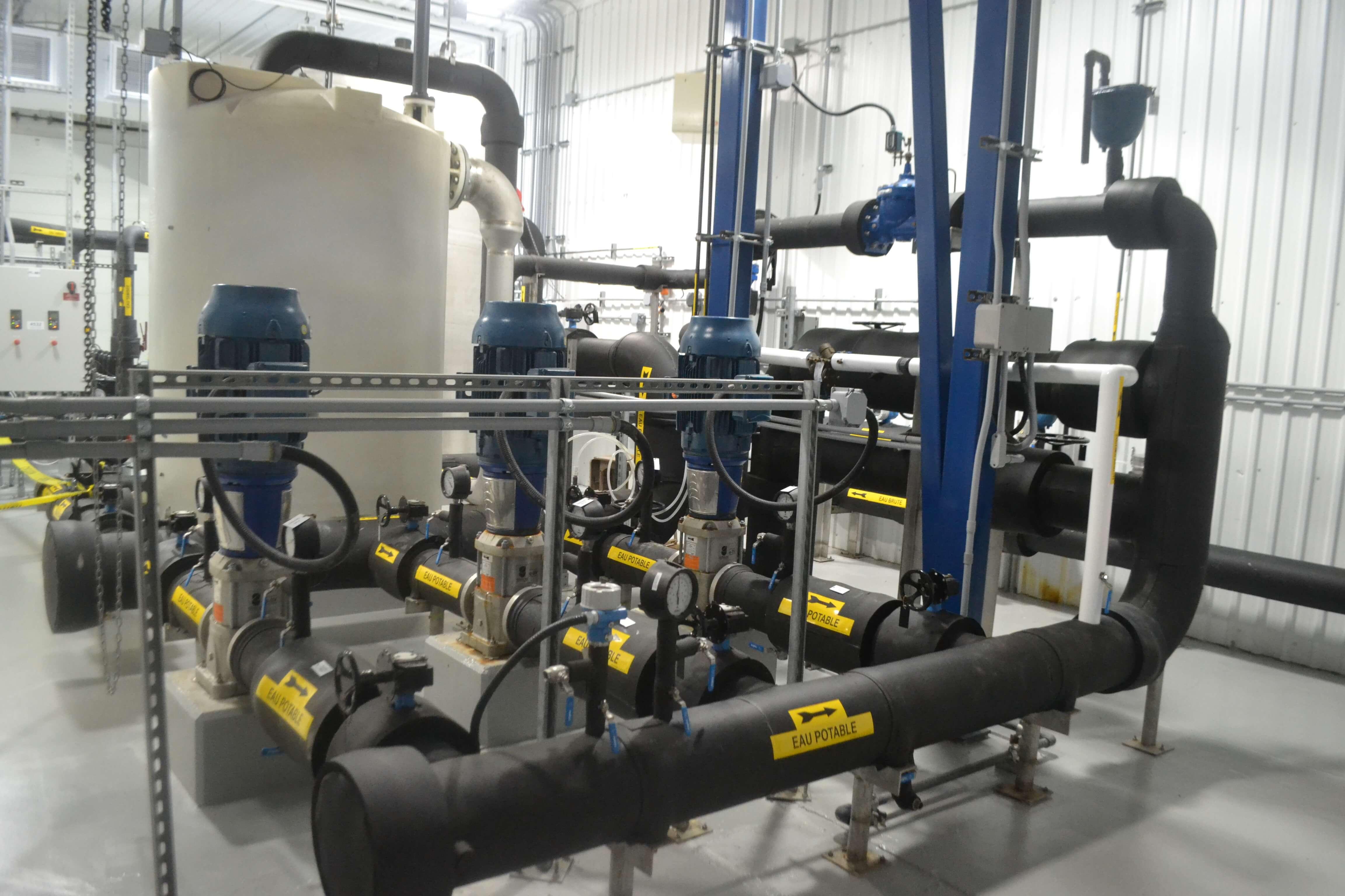Usine eau Montebello