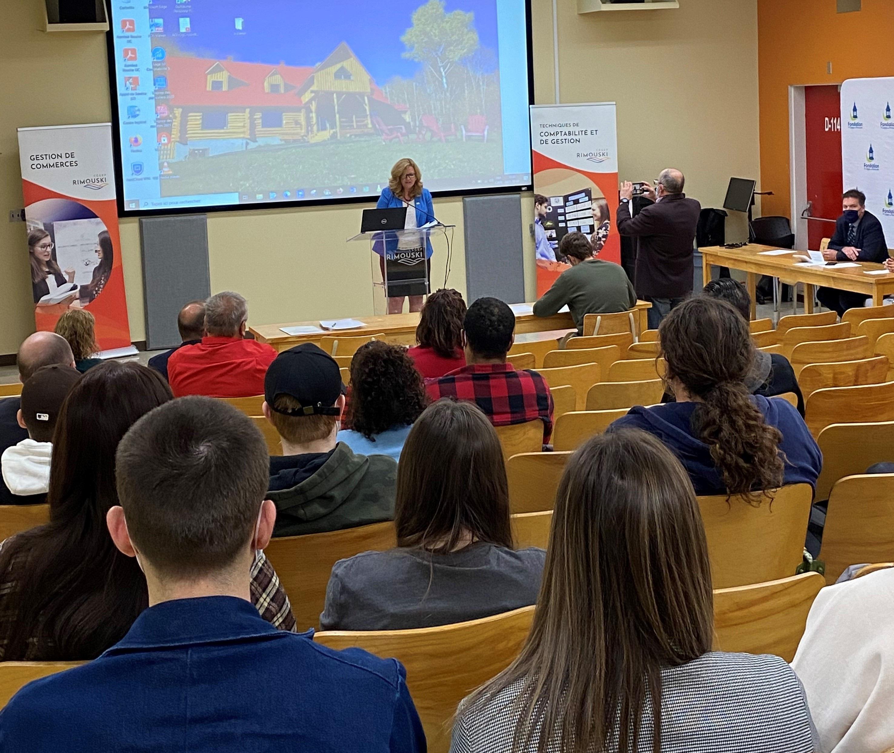 Le premier camp d'entraînement entrepreneurial du Cégep de Rimouski aura lieu du 9 au 13 novembre.