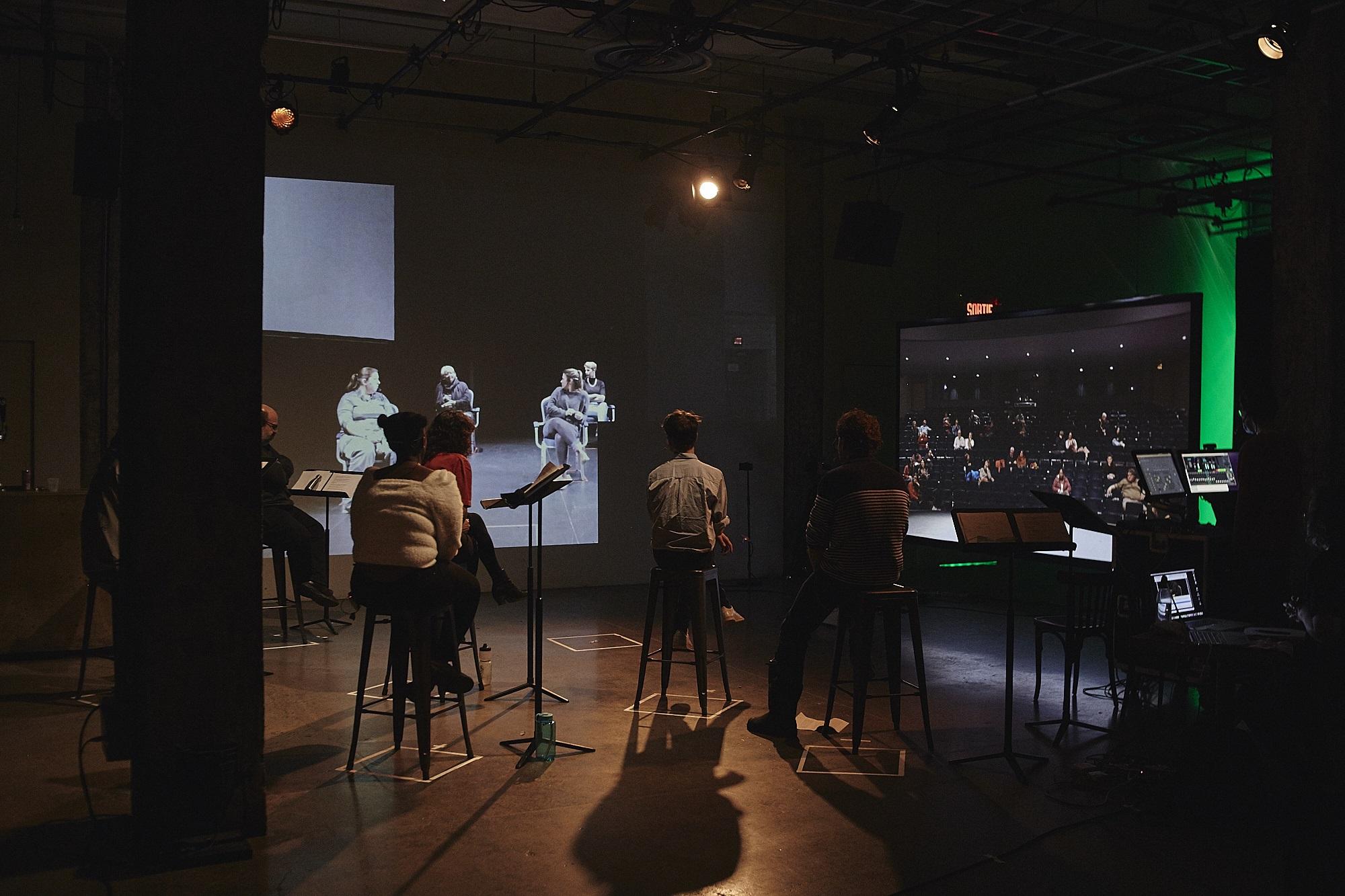Le collectif d'artistes l'Ensemble fera un arrêt virtuel à Rimouski ce jeudi.